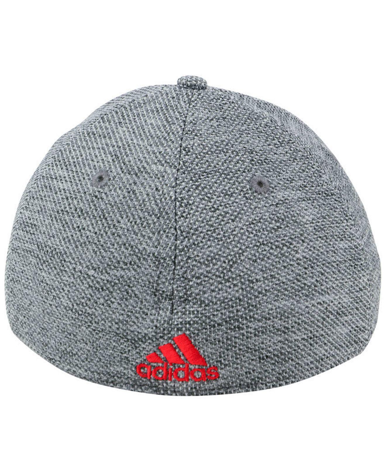 huge discount 50c11 4e51f new zealand fc dallas mens beanie a0f94 aaa12  cheapest lyst adidas fc  dallas penalty kick flex cap in gray for men 9caf2 3a36a