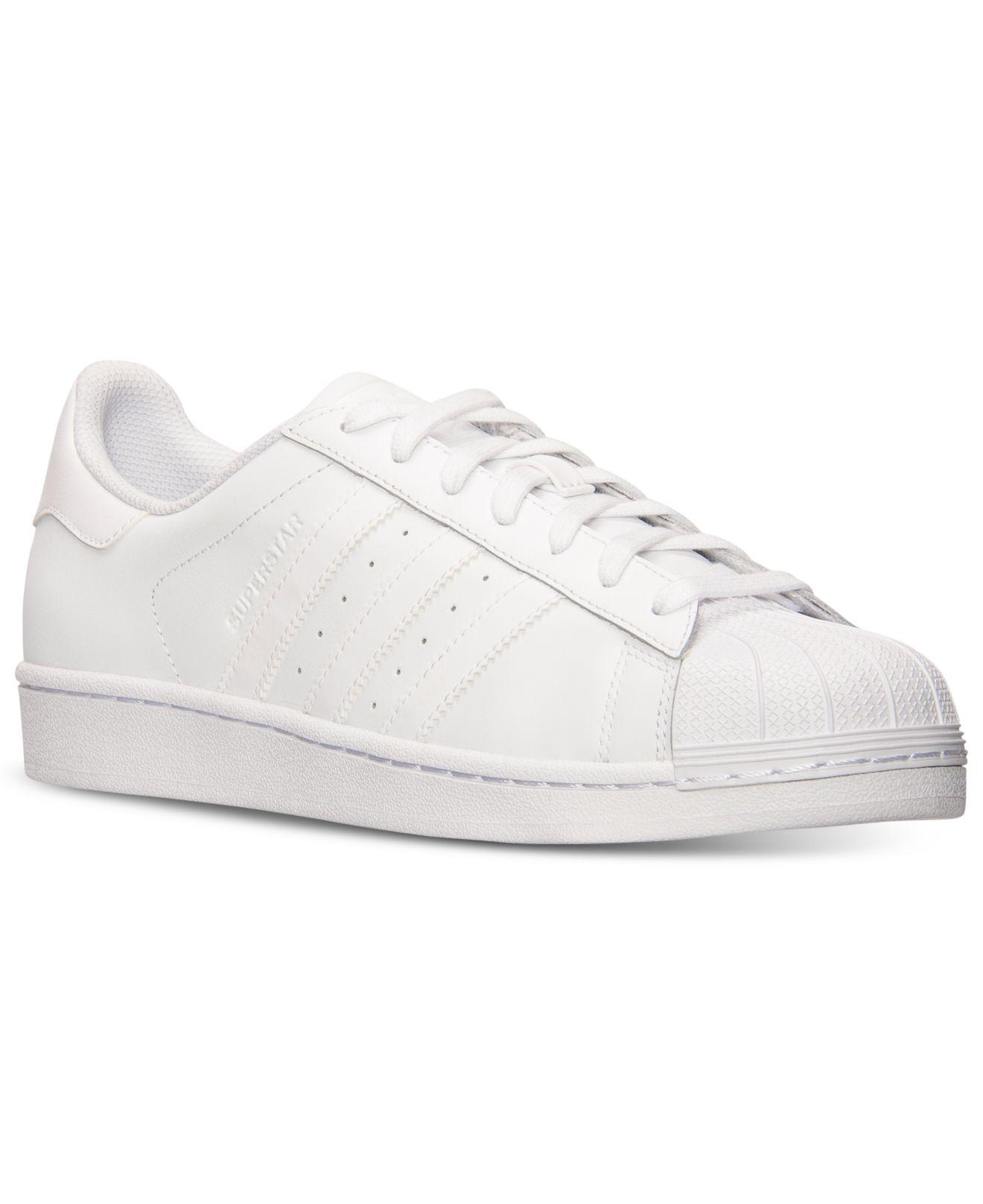 56fdc9f58 Lyst - adidas Men s Superstar Casual Sneakers From Finish Line in ...