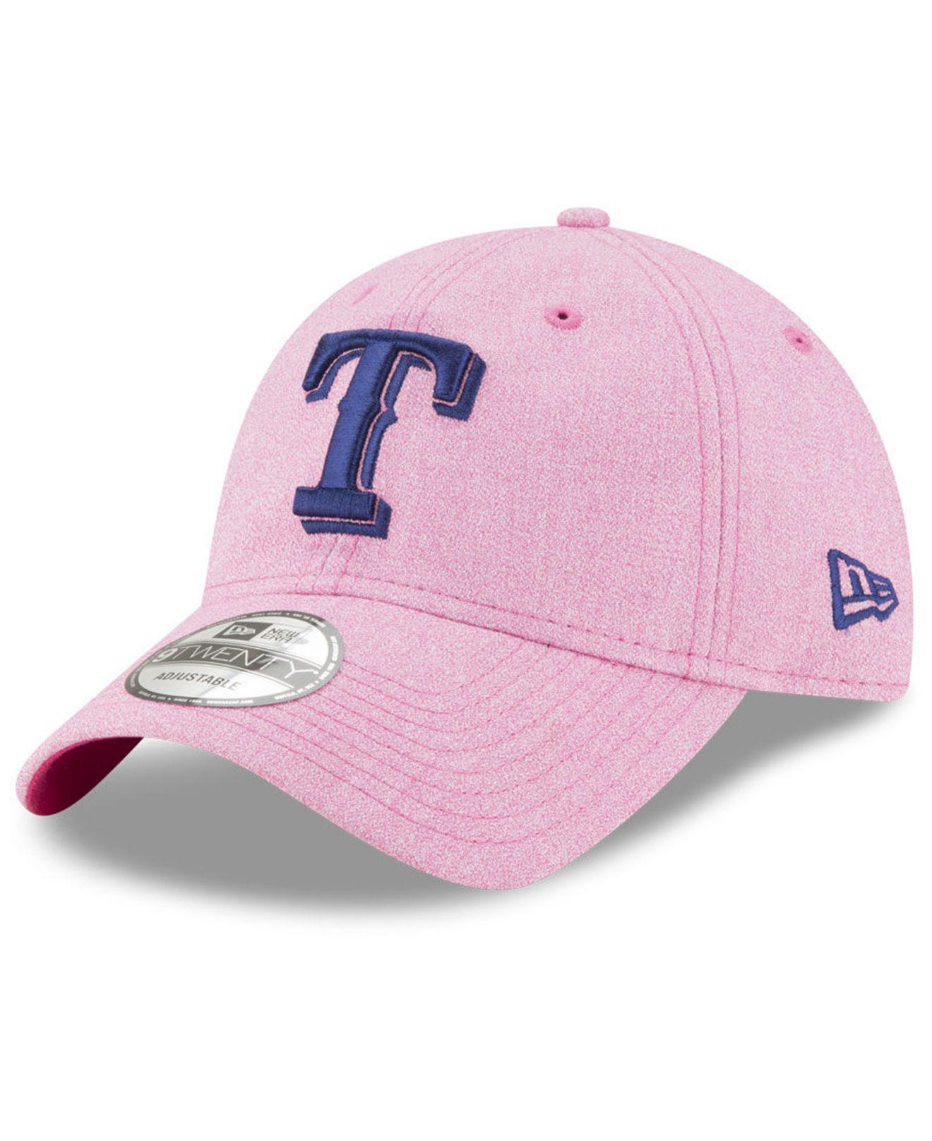 sports shoes 8492f 5c9da best texas rangers new era mlb x wilson 9twenty cap 88eef 37ae0  hot ktz.  womens pink texas rangers mothers day 9twenty cap f4fe3 b2a75