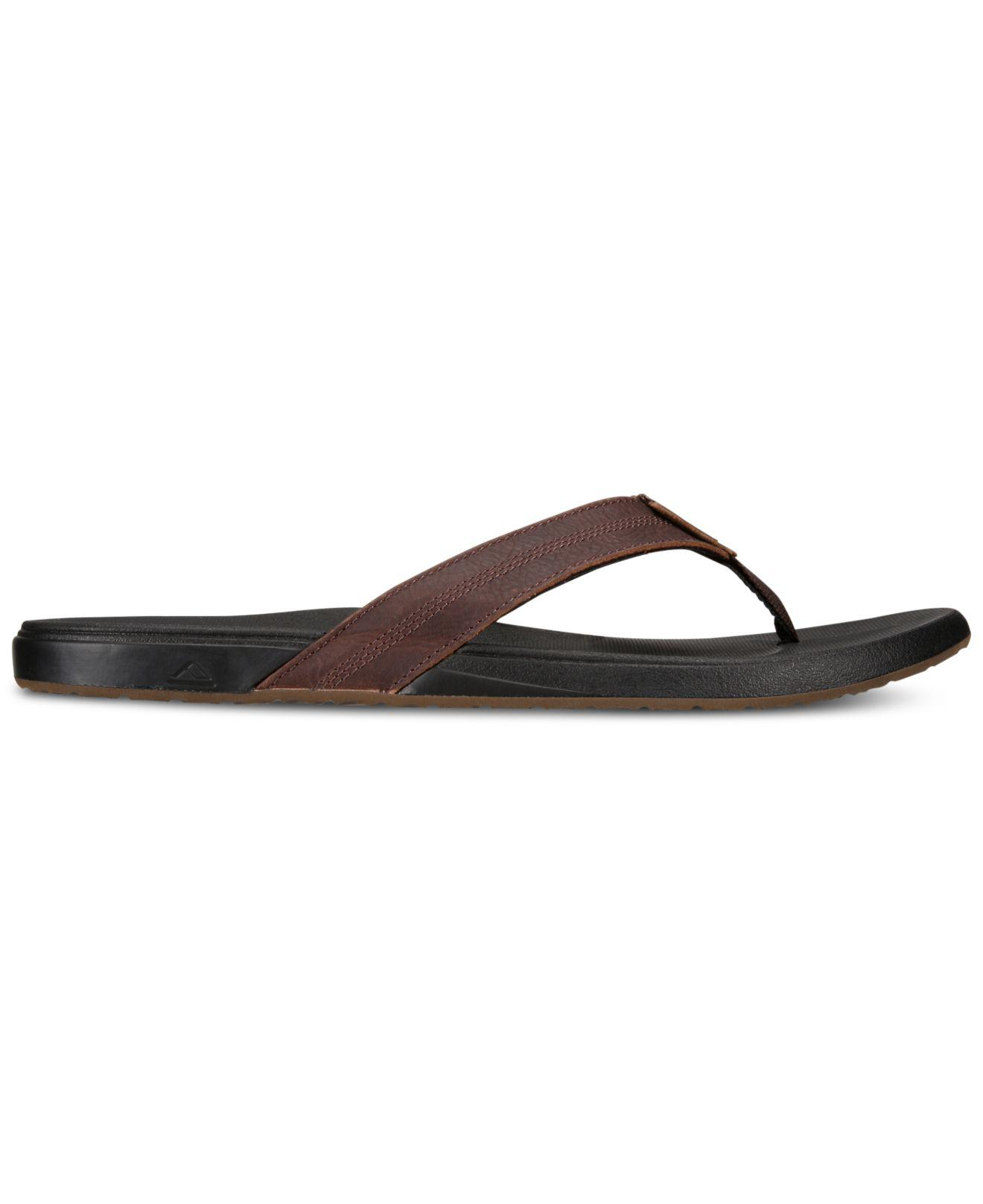 4c9fb9a7436f Lyst - Reef Cushion Bounce Phantom Sandals in Brown for Men