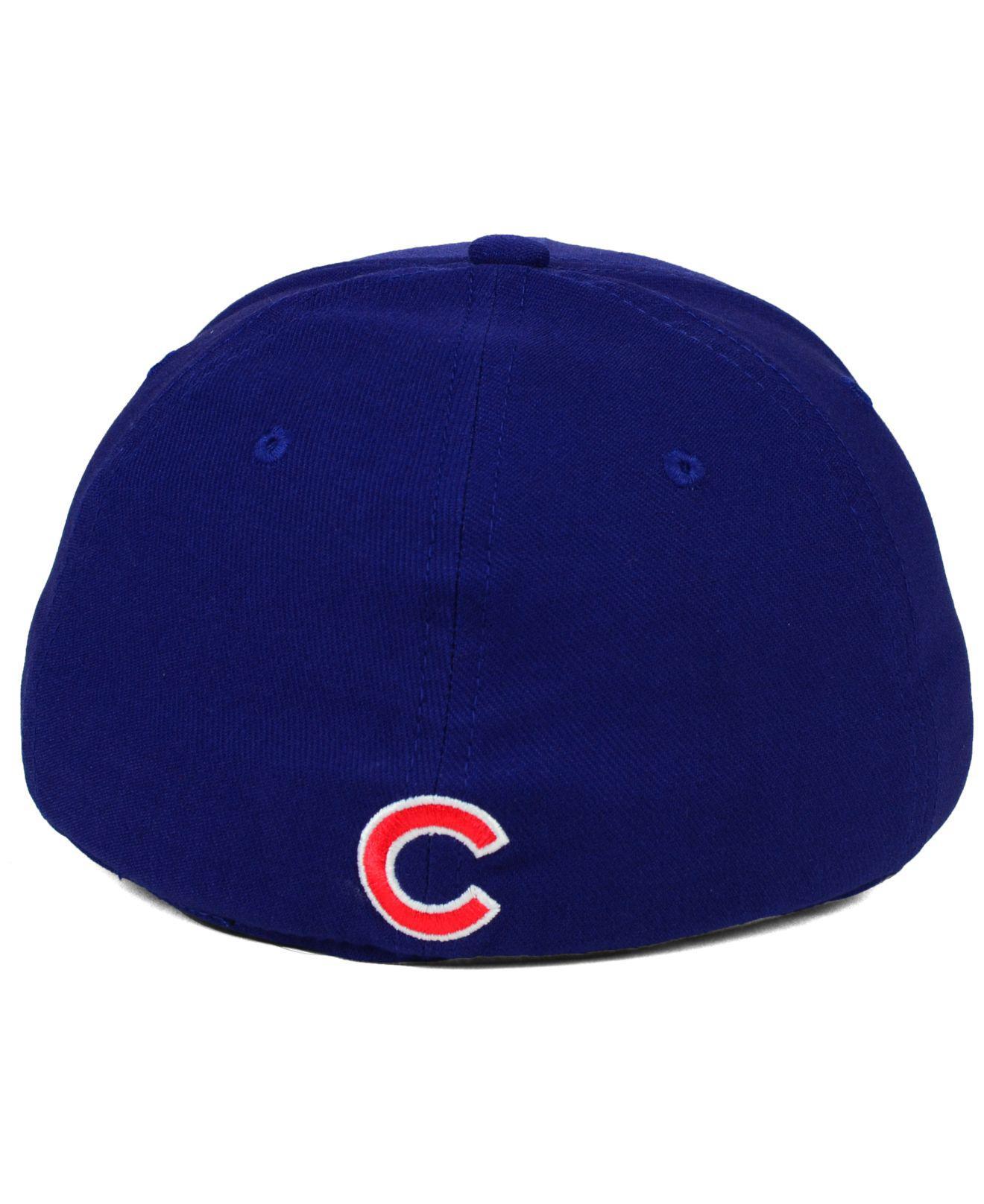 on sale 718b6 ea921 Lyst - Nike Chicago Cubs Ligature Swoosh Flex Cap in Blue for Men
