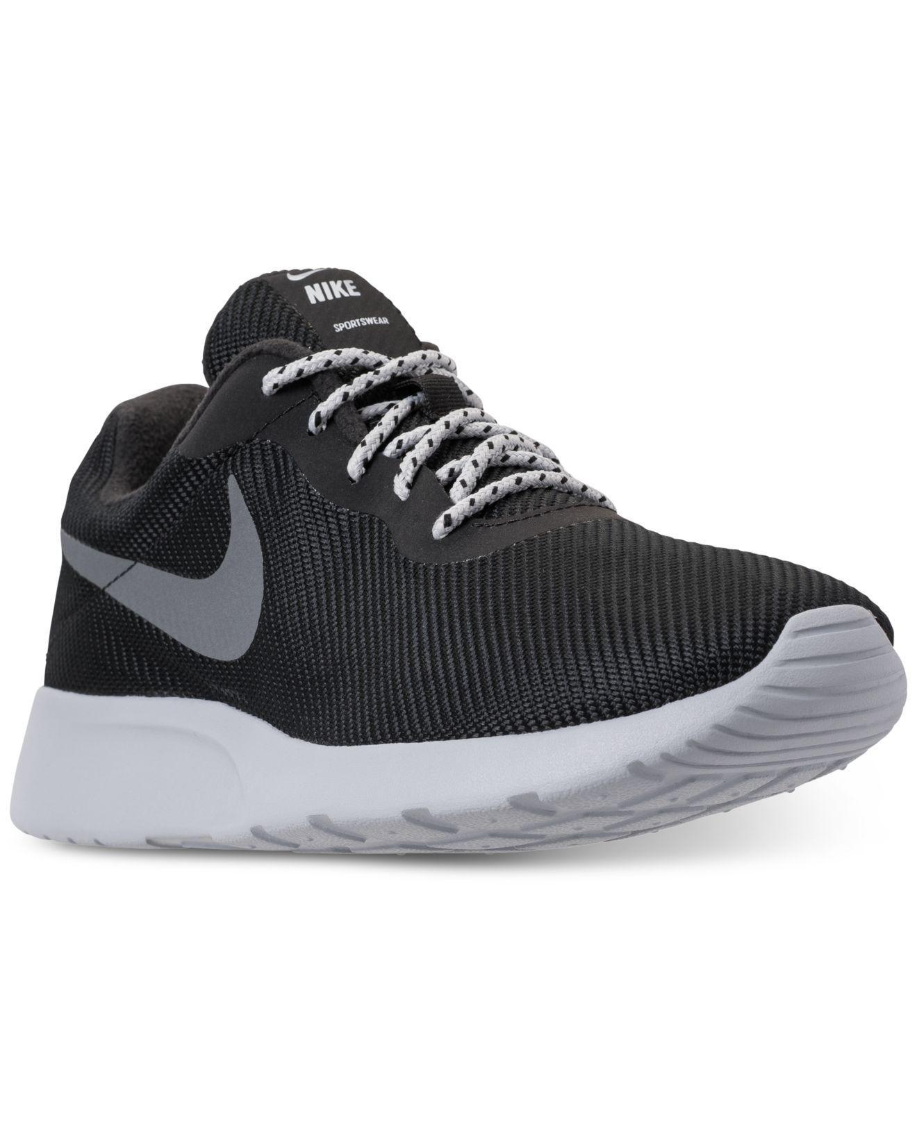 20435c63e0abf Nike - Gray Tanjun Se Casual Sneakers From Finish Line for Men - Lyst. View  fullscreen