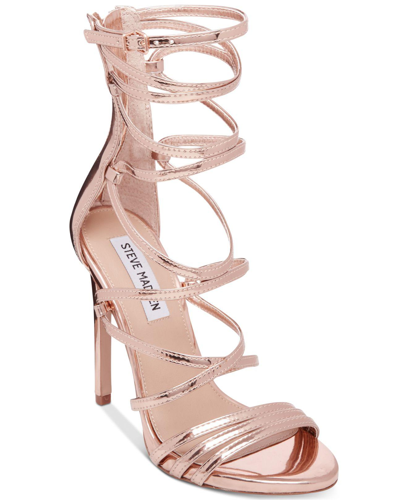 Womens Flaunt Open Toe Heels Steve Madden Cheap Shop For Clearance Cheap Real Top Quality Sale Online New Quality R1YyBfhtN
