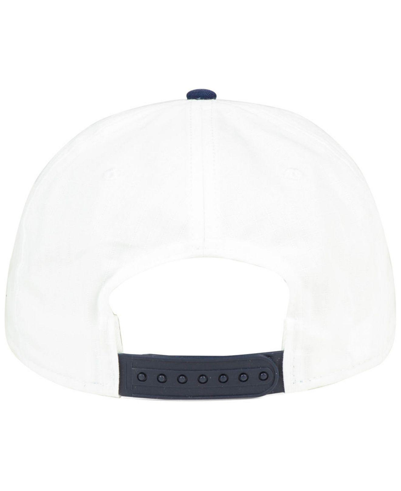 a137866ab1b ... discount nike cleveland indians white ripstop snapback cap for men lyst.  view fullscreen 41d05 780bc