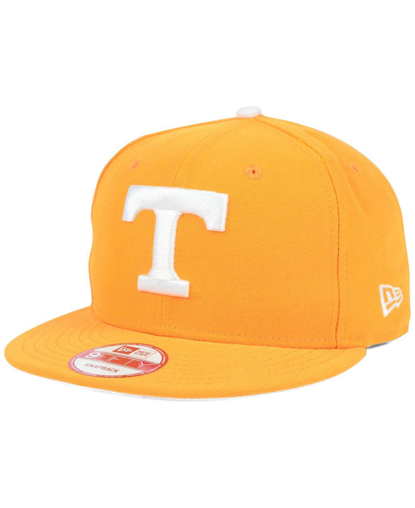 e7331cea9e8 Lyst - KTZ Tennessee Volunteers Core 9fifty Snapback Cap in Orange ...