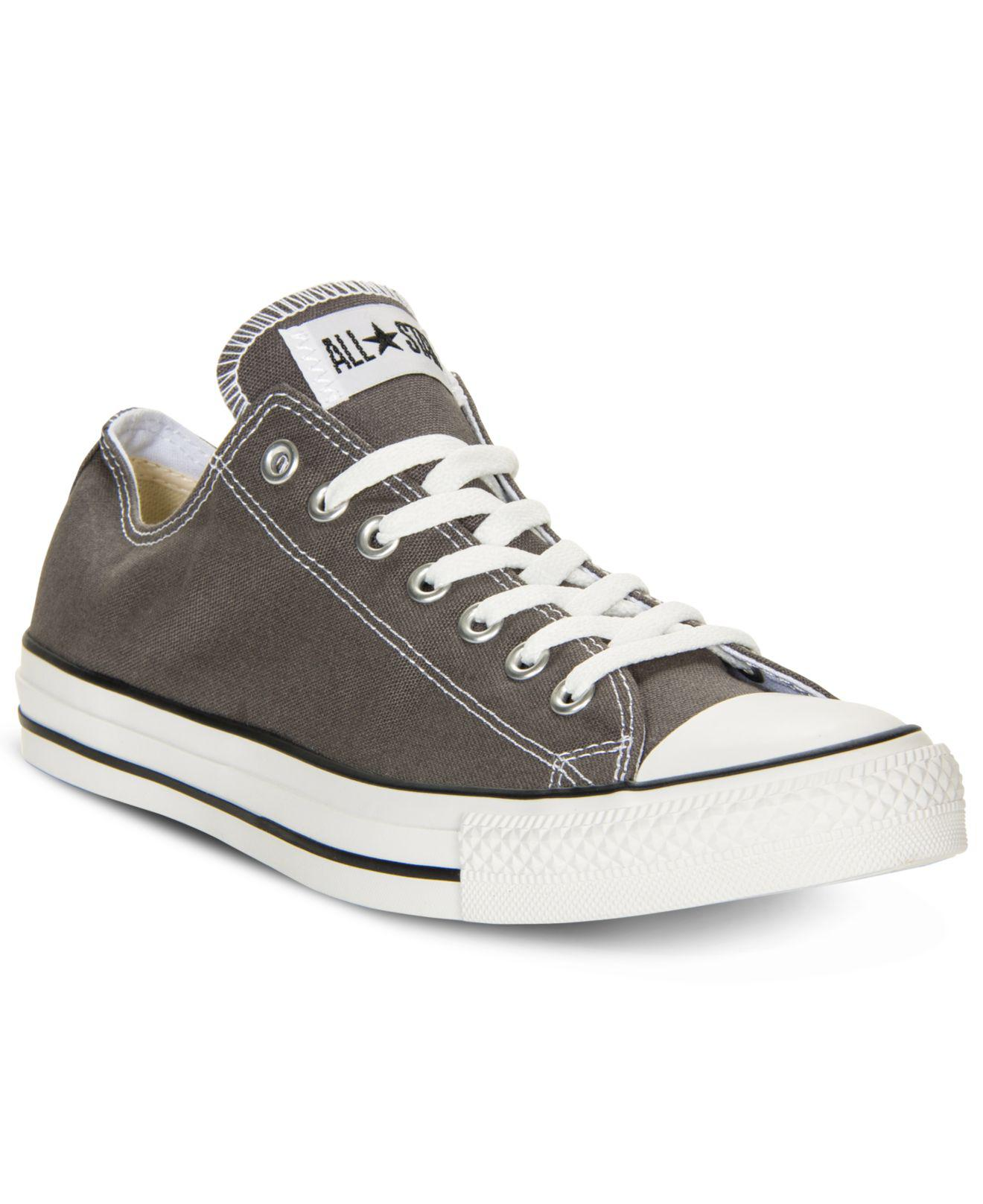 9549b7fdaf00d0 Lyst - Converse Men s Chuck Taylor Low Top Sneakers From Finish Line ...