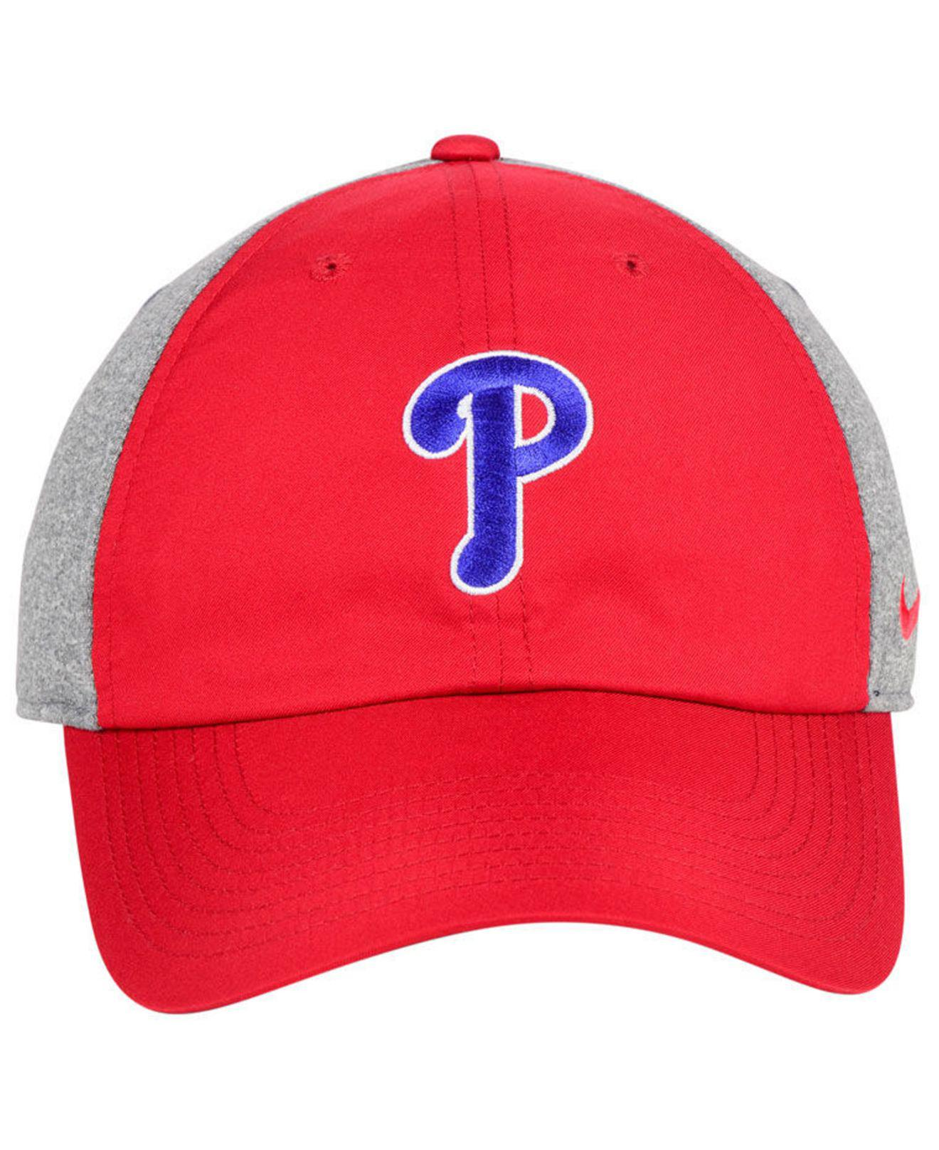 2896e23c25fe3 Lyst - Nike Philadelphia Phillies New Day Legend Cap in Red for Men