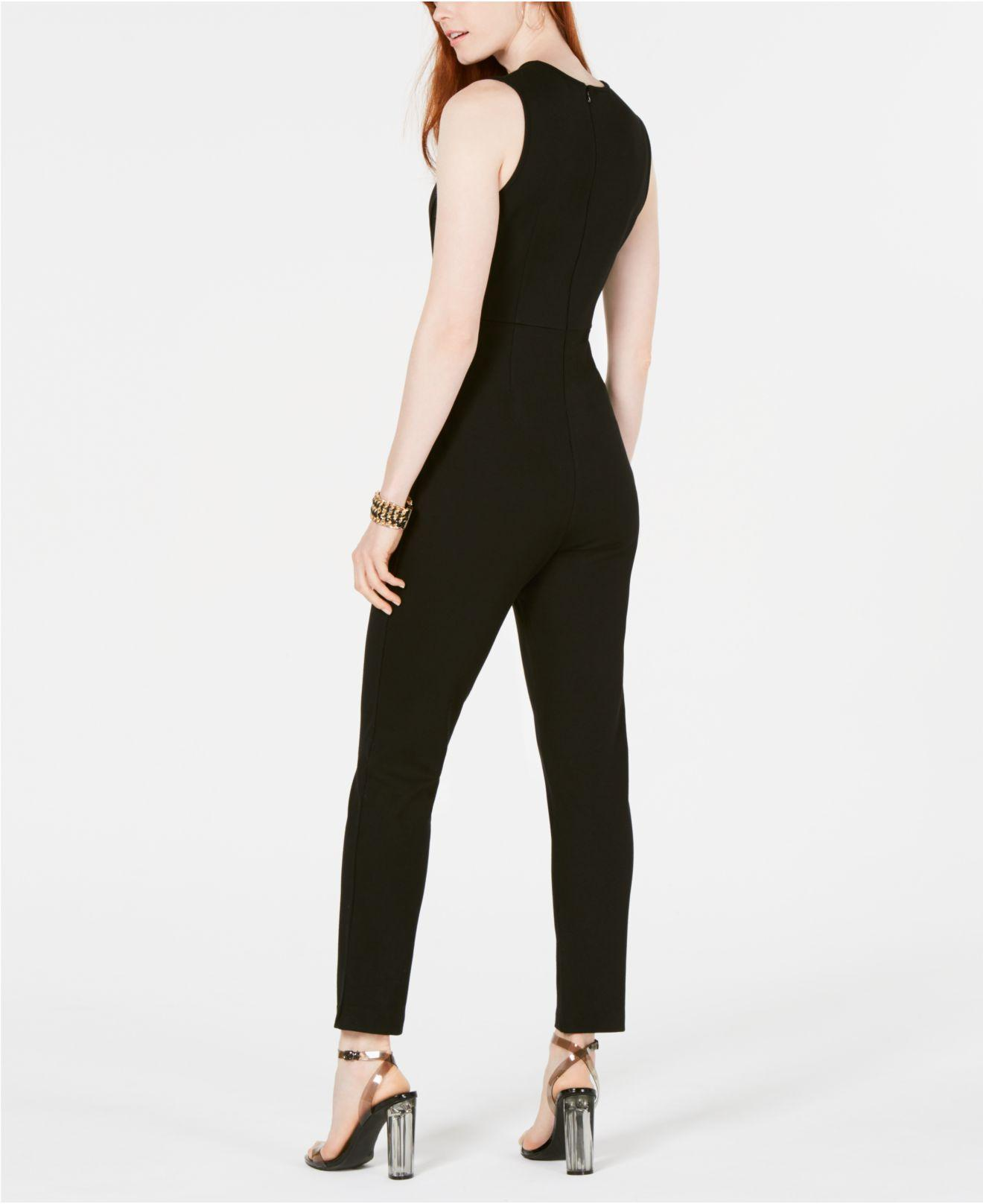 22325a8807c Lyst - French Connection Sundae Lula Jumpsuit in Black