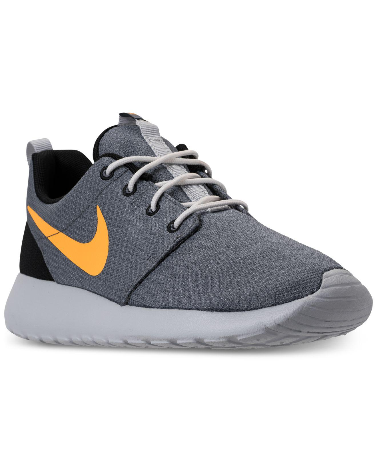 Lyst - Nike Roshe One Casual Sneakers From Finish Line in Gray for Men a1b431702978