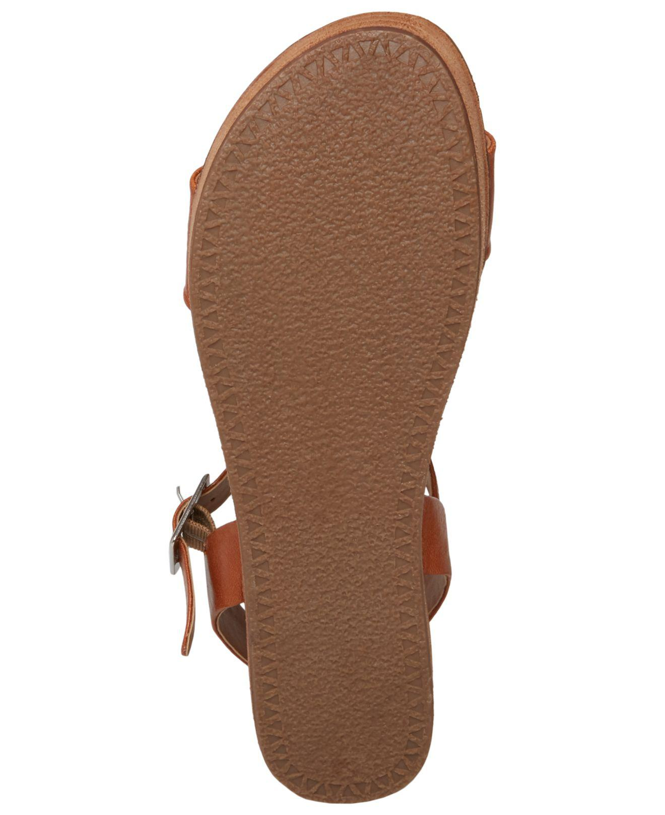 5c4b92c651f7 Lyst - Steve Madden Aida Flatform Sandals in Brown