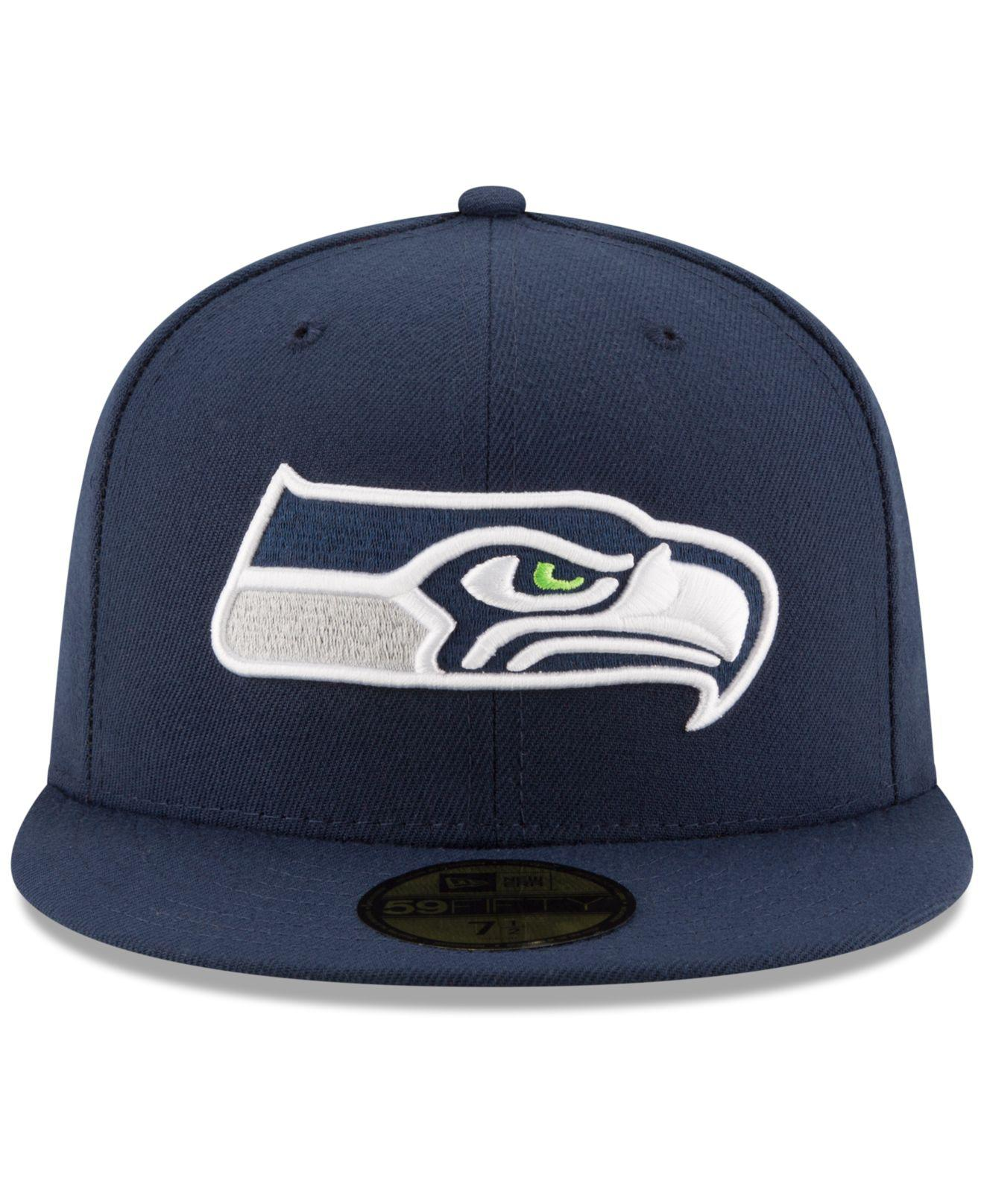 Lyst - Ktz 59fifty Cap Fitted Seattle Seahawks In Mesh in Blue for Men -  Save 20.588235294117652% a25bcf6c29e6