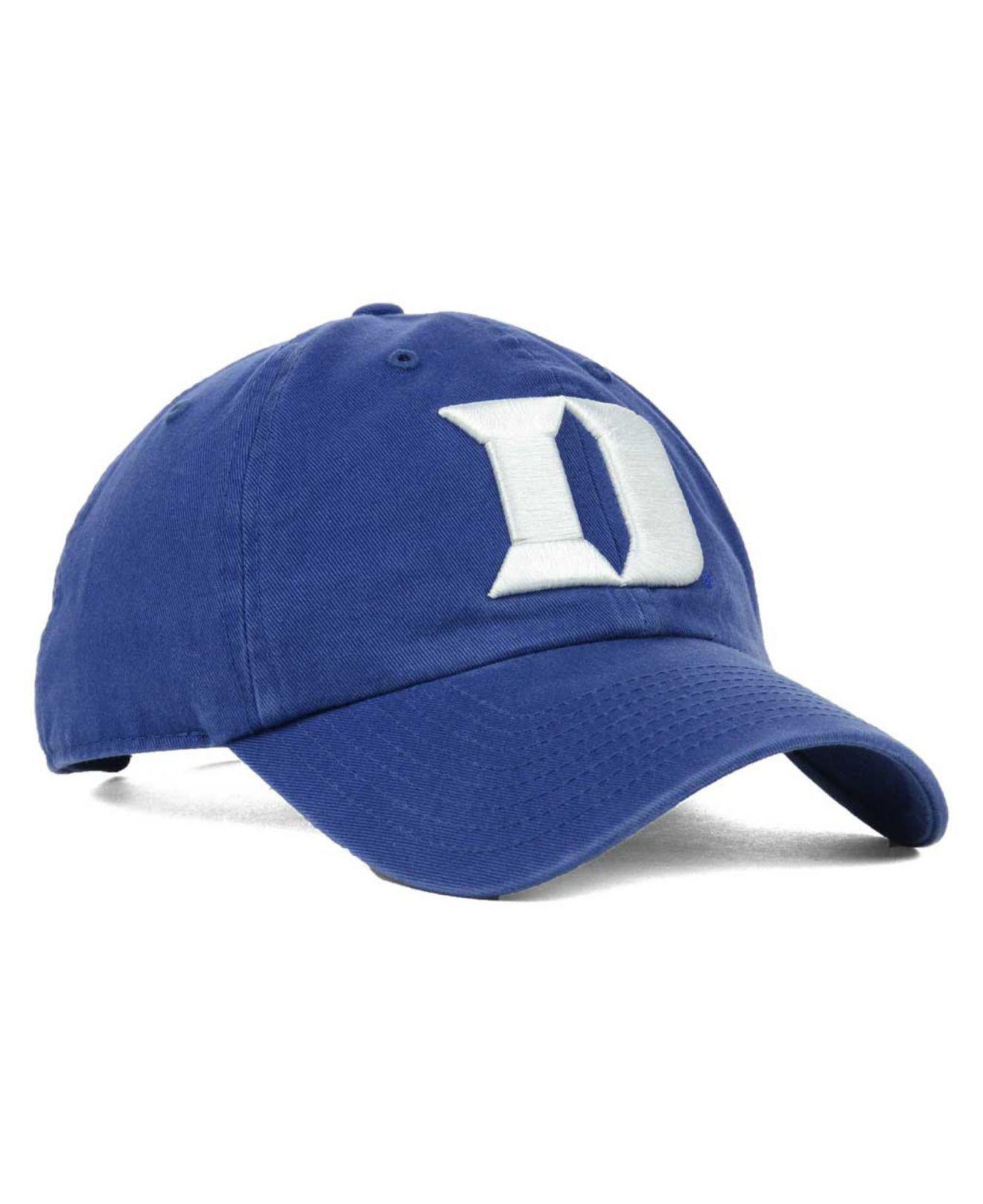 huge discount 3efe2 566cf ... france lyst 47 brand duke blue devils clean up cap in blue for men  6f9d5 94eb1