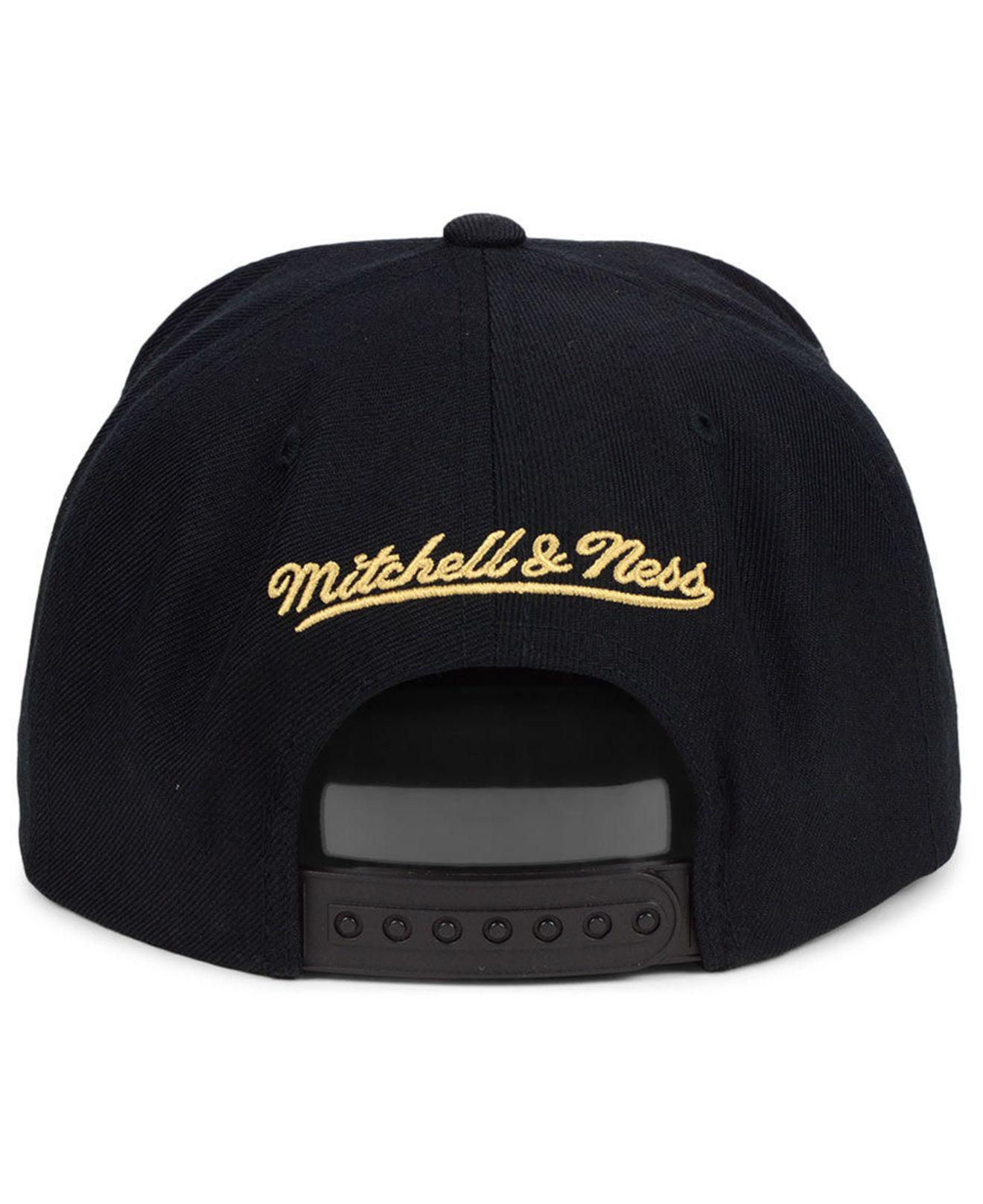 bf0cc102d4f ... order mitchell ness black miami heat natural camo snapback cap for men  lyst. view fullscreen