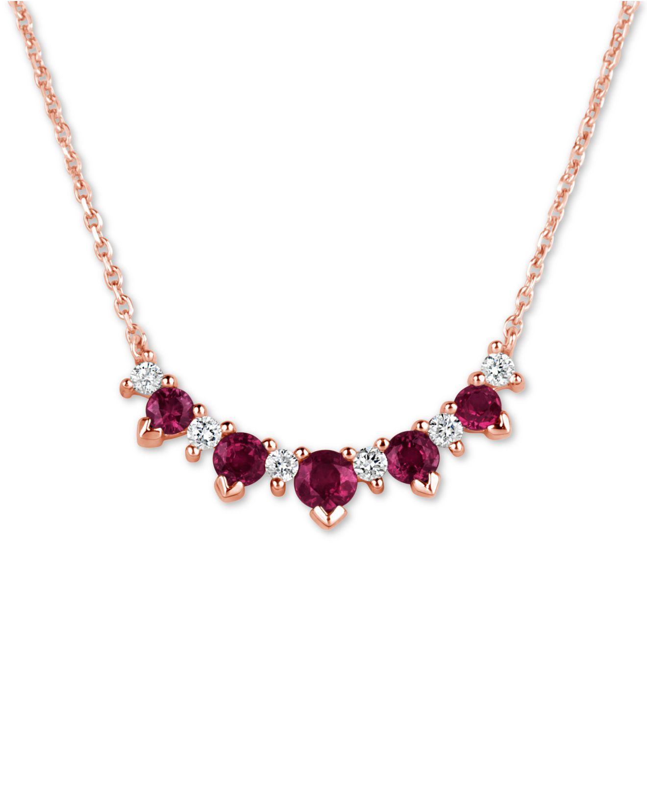26dc4f215a6f0 Women's Red Certified Ruby (3/4 Ct. T.w.) & Diamond (1/5 Ct. T.w.) 17