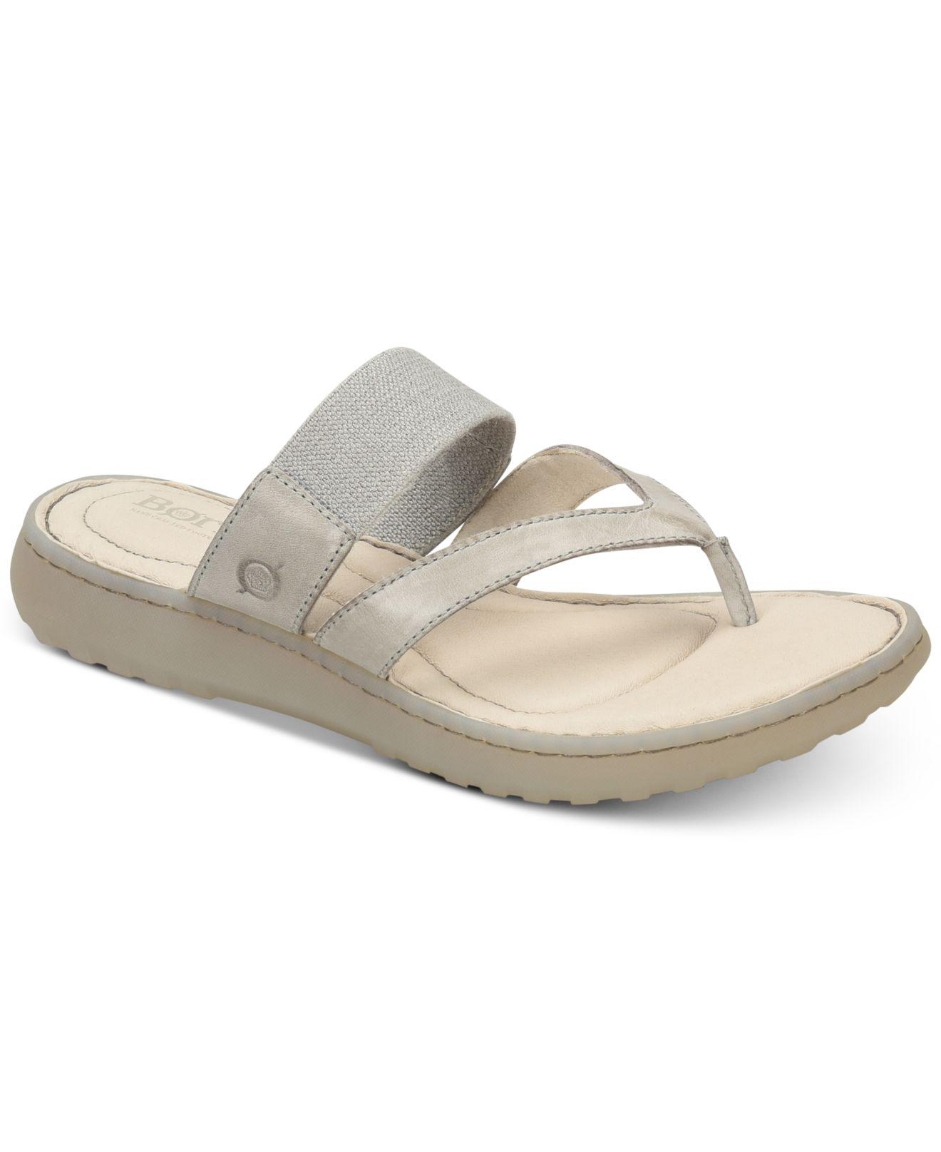 333eeda9757e Lyst - Born Nevis Flat Sandals in Gray