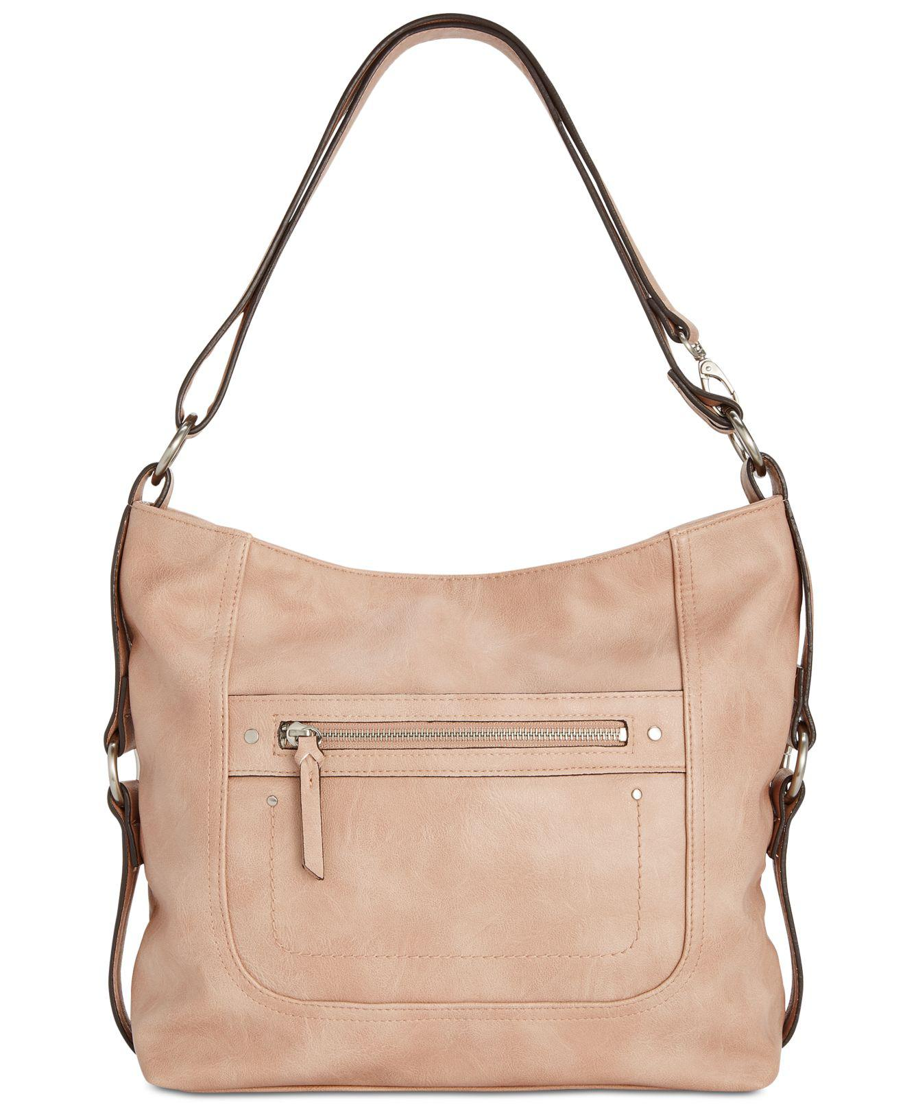 bf3c97bbe0b INC International Concepts. Women s Pink Riverton Medium Hobo, Created For  Macy s