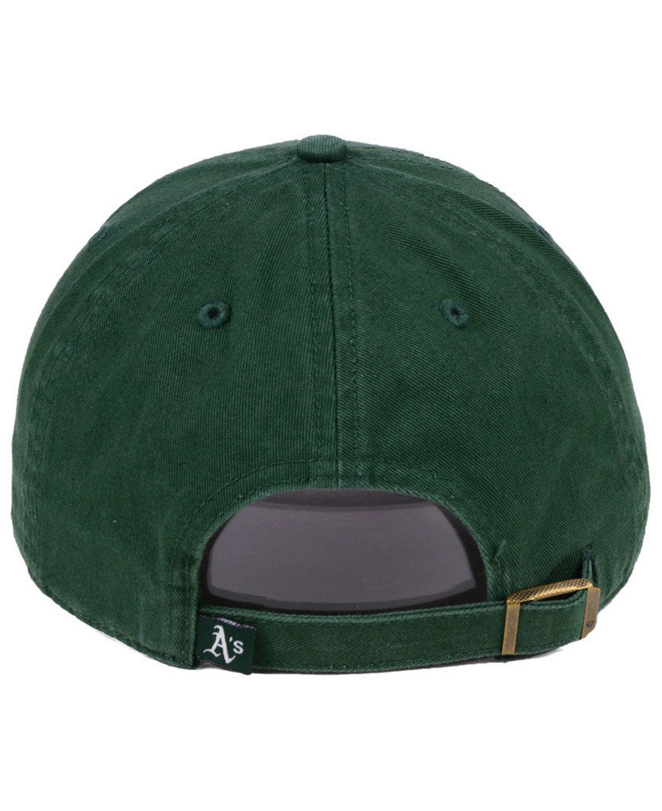 best website ca7d1 f2948 47 Brand Oakland Athletics Axis Clean Up Cap in Green for Men - Lyst