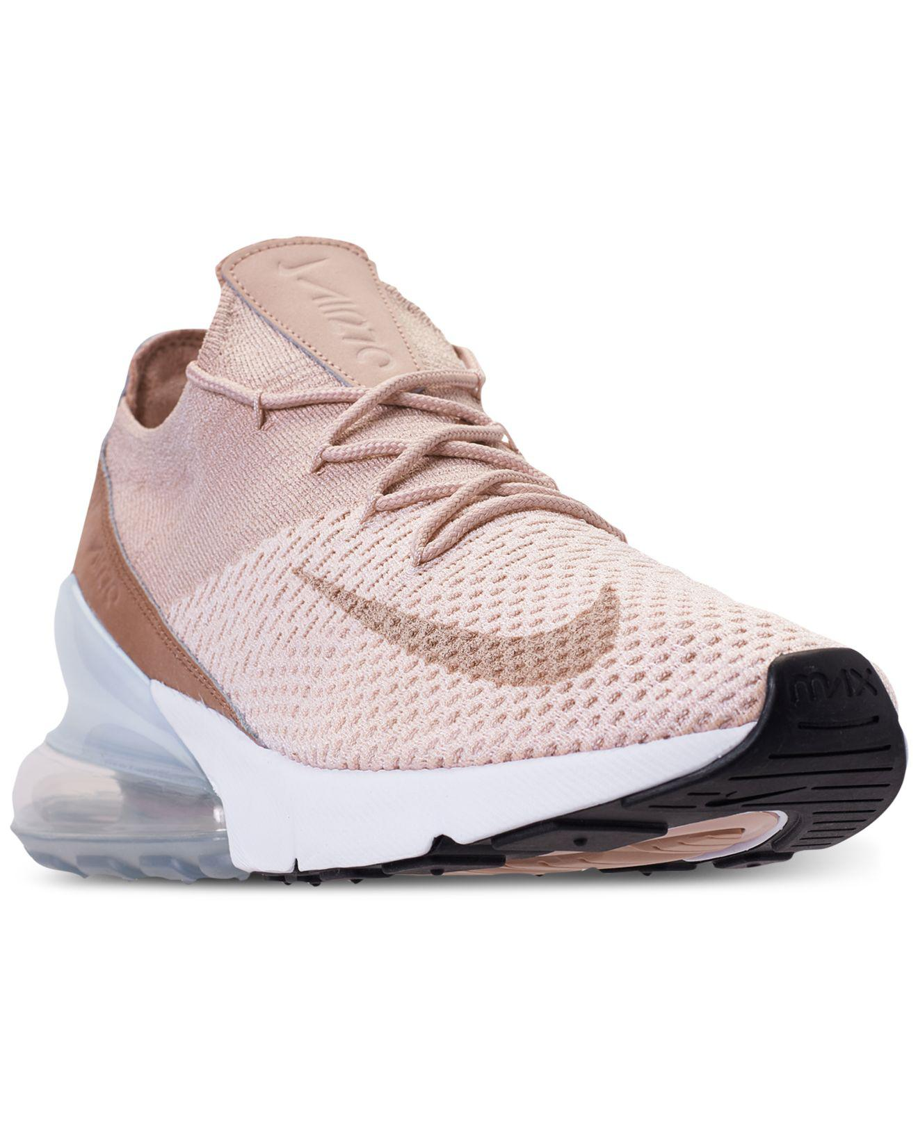 brand new bf3be 01698 Nike Wmns Air Max 270 Flyknit Guava Ice  Particle Beige in Pink - Lyst