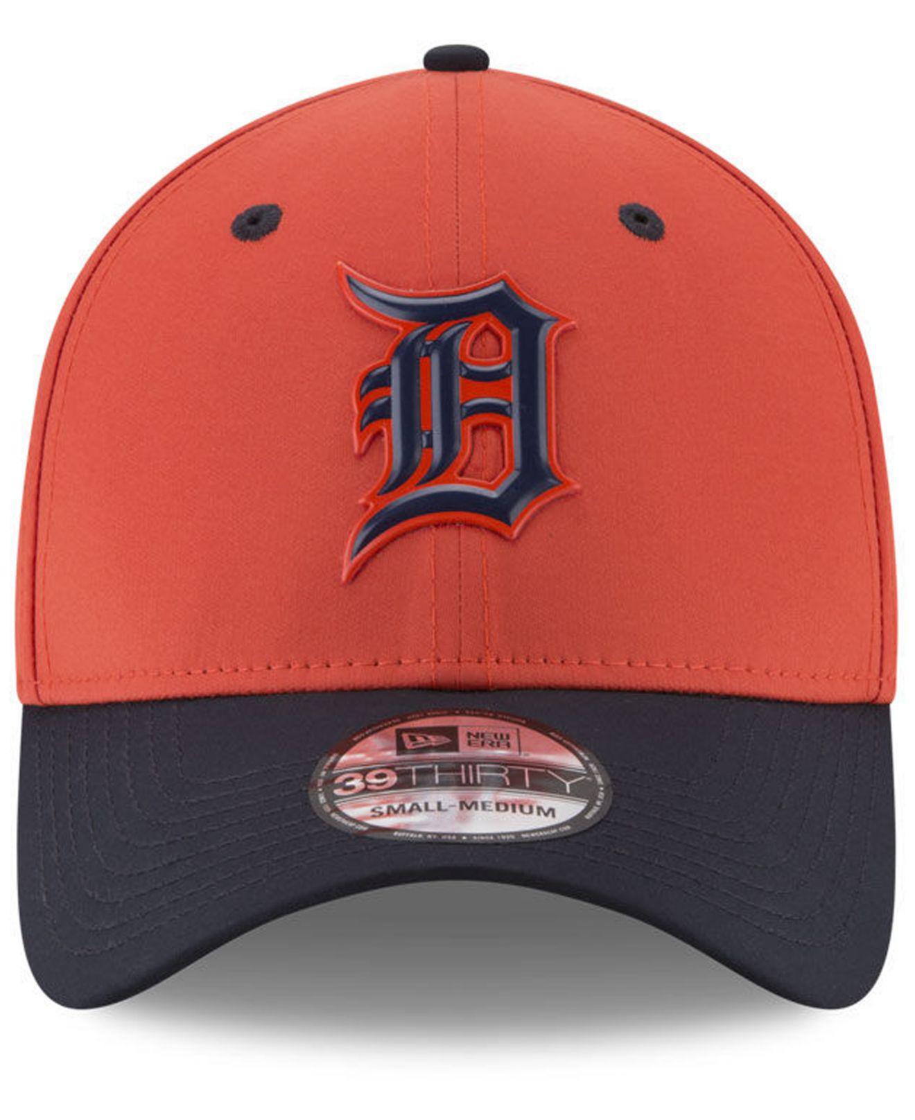best service 935ab 6861f KTZ Detroit Tigers Batting Practice 39thirty Cap in Orange for Men - Lyst