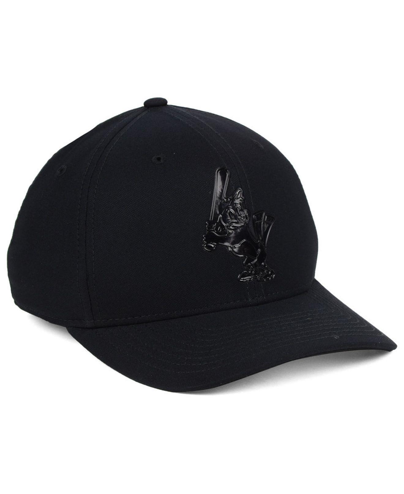 release date 19e3e e8116 Nike - Black Baltimore Orioles Gloss Swooshflex Cap for Men - Lyst. View  fullscreen