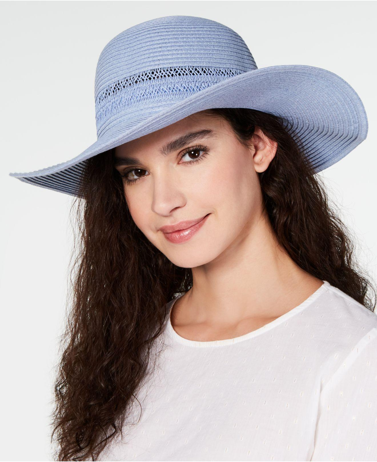 eb8199d14 Women's I.n.c. Lace-insert Floppy Hat, Created For Macy's