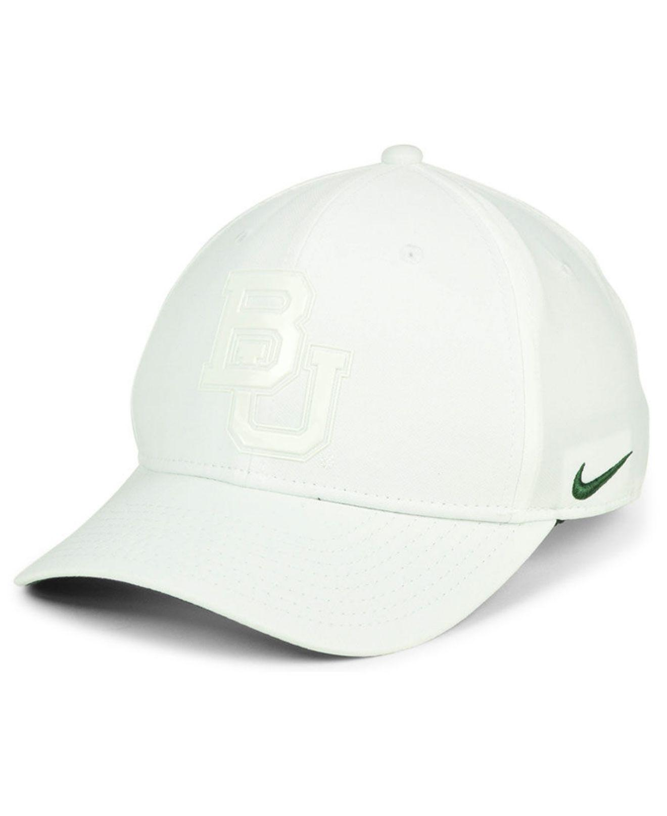 1d93c32a361d6 Lyst - Nike Baylor Bears Col Cap in White for Men