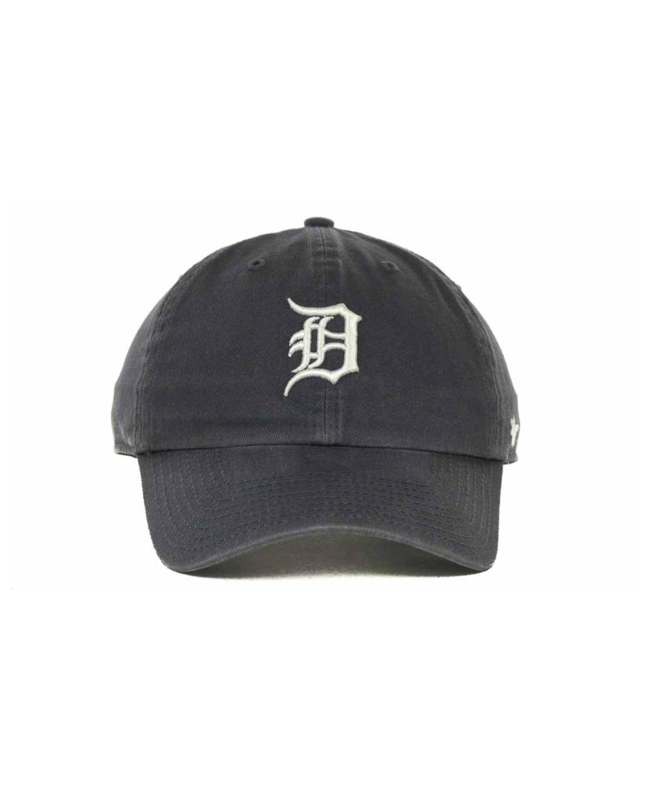 new arrival cc132 36a21 ... promo code for lyst 47 brand detroit tigers clean up hat in blue for  men b4a85
