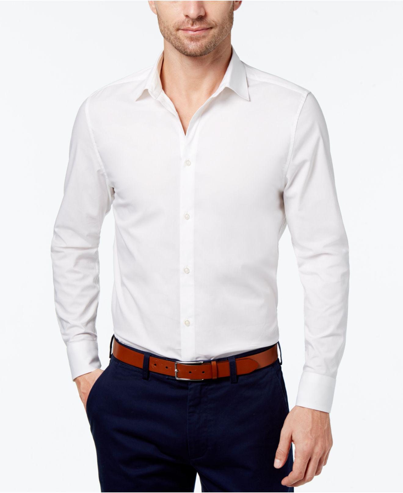 3c9f559d7a5 Lyst - Daniel Hechter Men s Shirt in White for Men