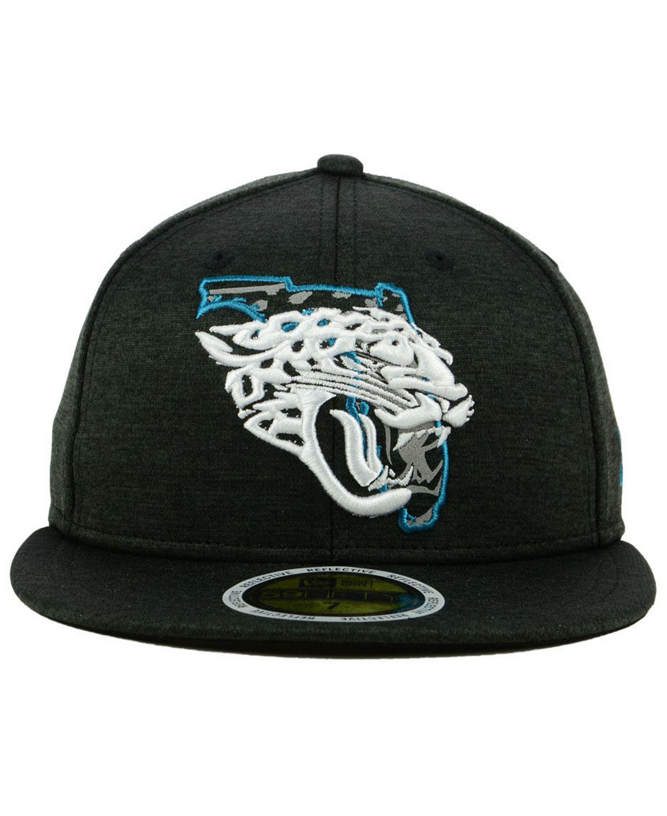 579f658e7f1 Lyst - KTZ Jacksonville Jaguars State Flag Reflective 59fifty Fitted Cap  for Men
