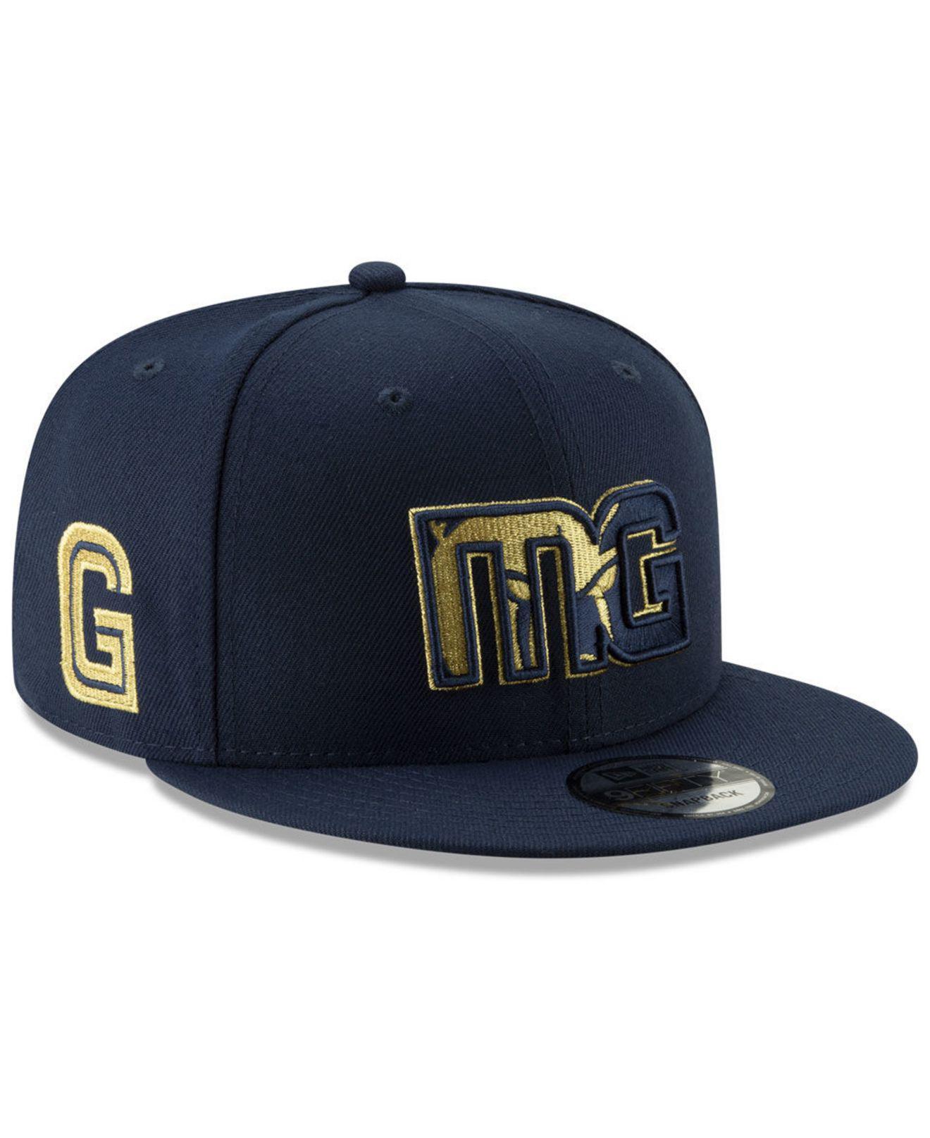 finest selection bae2d b3f91 KTZ. Men s Blue Memphis Grizzlies Mishmash 9fifty Snapback Cap