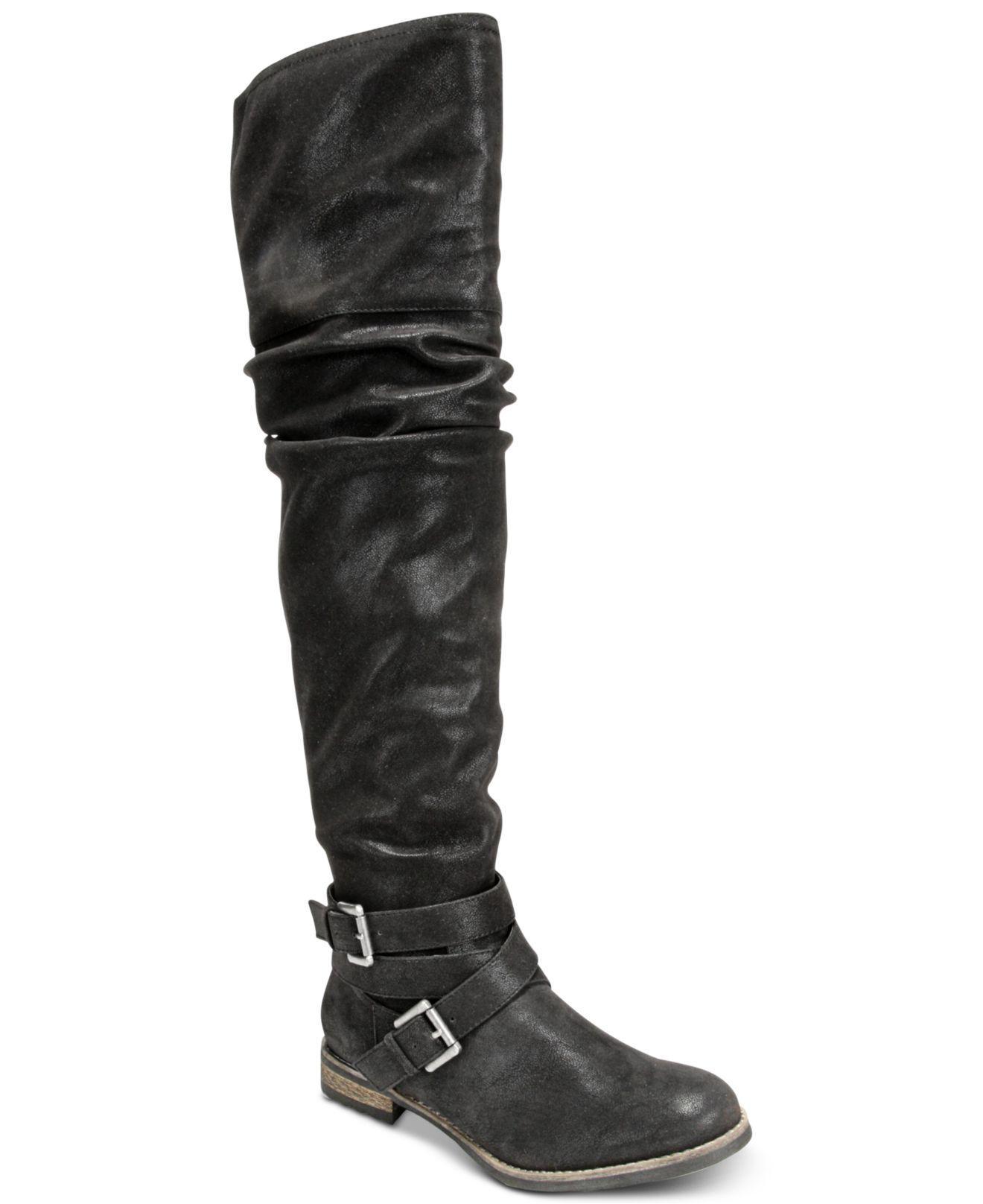 Carlos by Carlos Santana Nina Over-The-Knee BOOTS Size 5.5 M Black