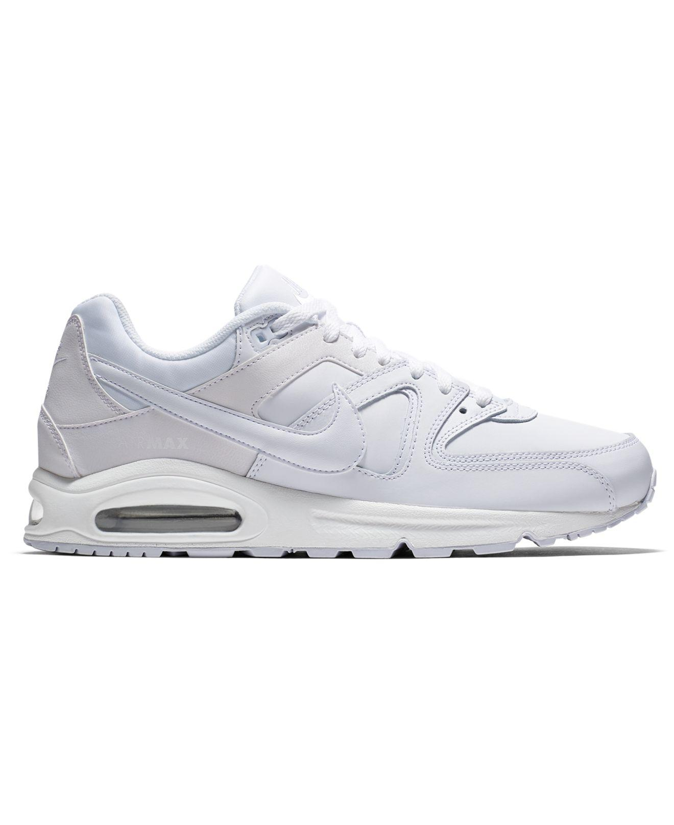 Lyst - Nike Air Max Command Leather Casual Sneakers From Finish Line ... 108b4043664d2