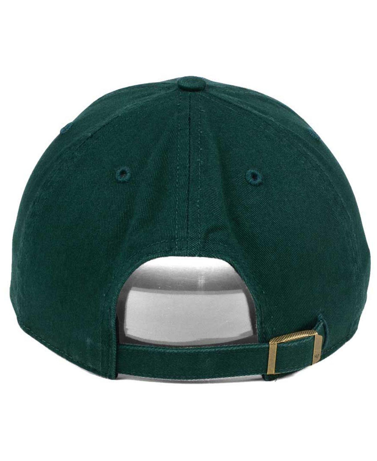 new products 3d68d 6a587 ... clearance 47 brand green triple rush clean up cap for men lyst. view  fullscreen 1f41b
