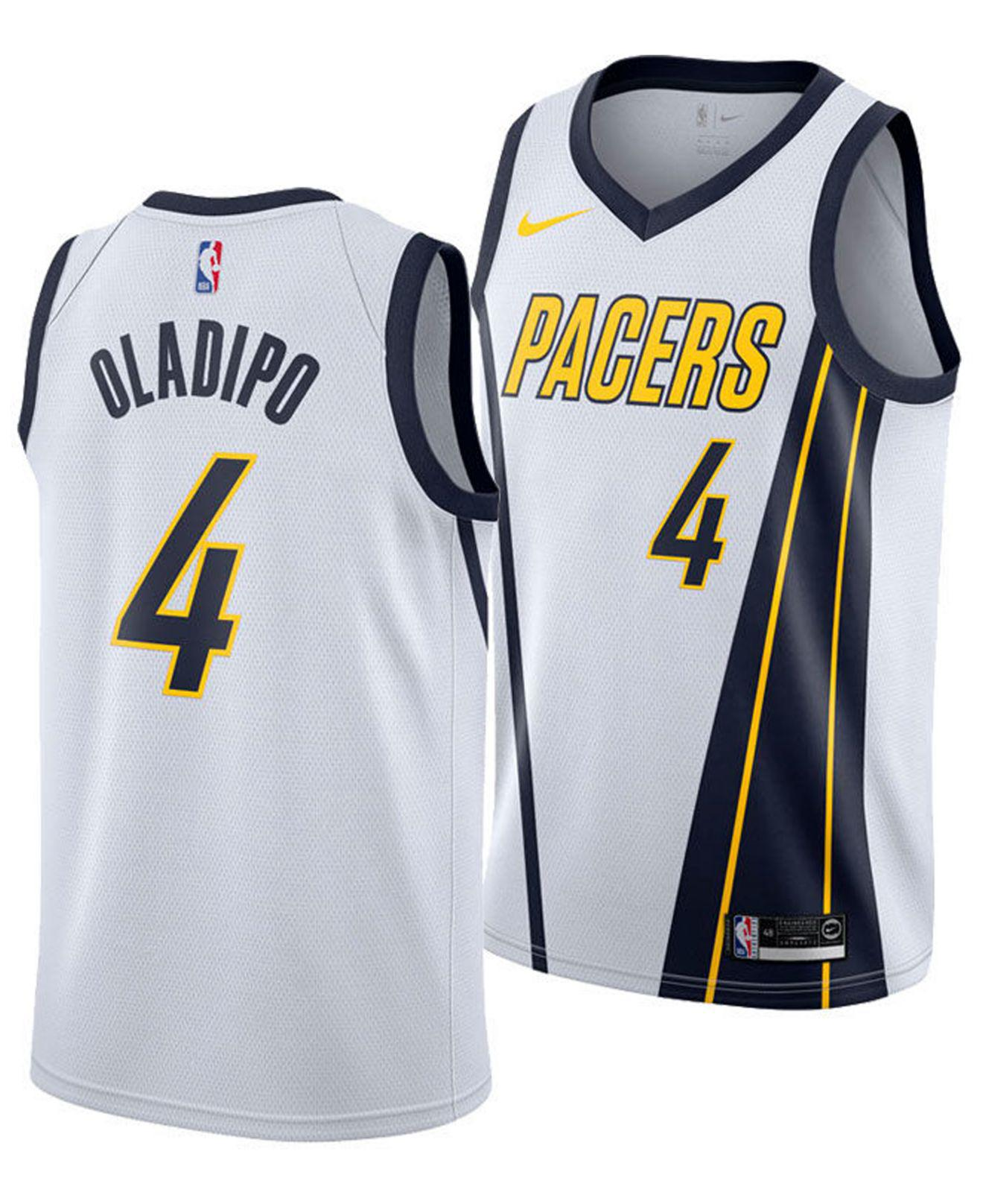 e35704384481 Nike. Men s White Victor Oladipo Earned City Edition Swingman (indiana  Pacers) Nba Connected Jersey