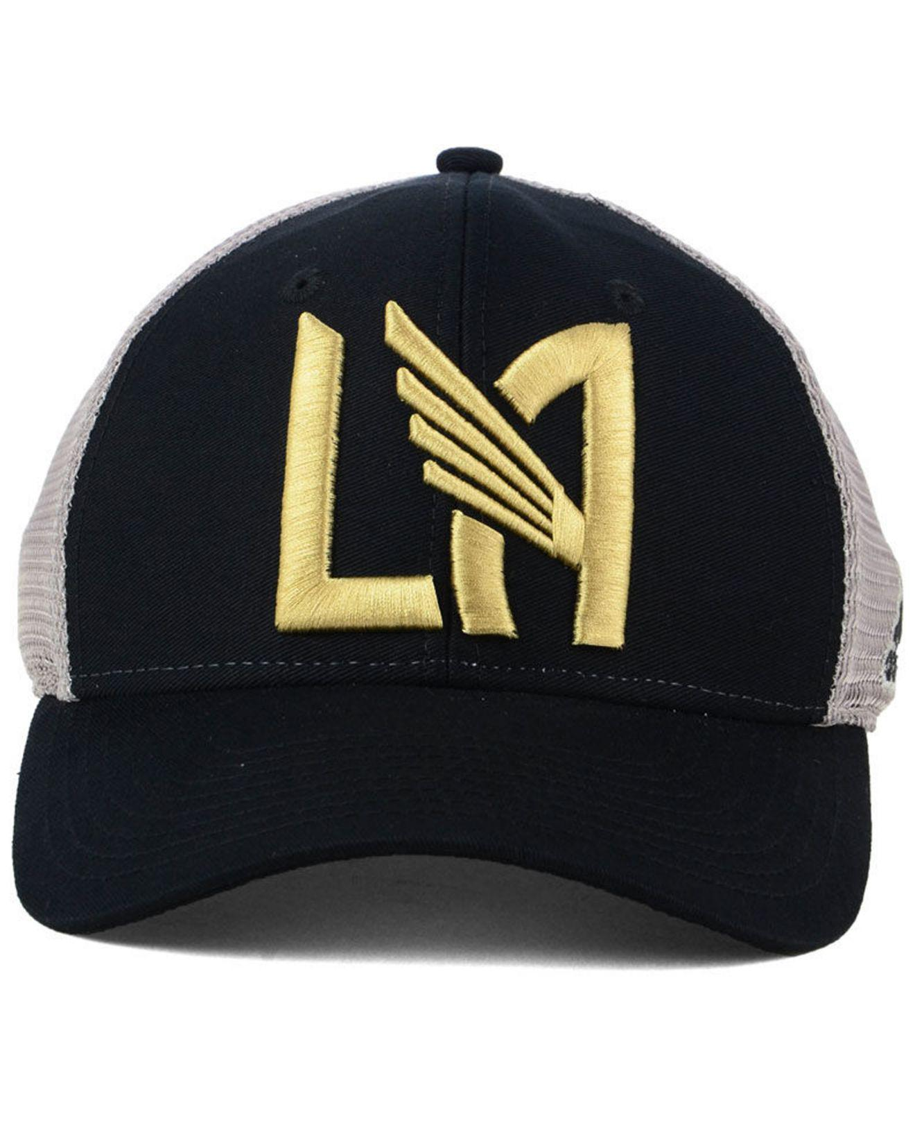 best authentic 50aa3 6789e ... sale lyst adidas los angeles football club mesh flex cap in black for  men f1e02 932eb