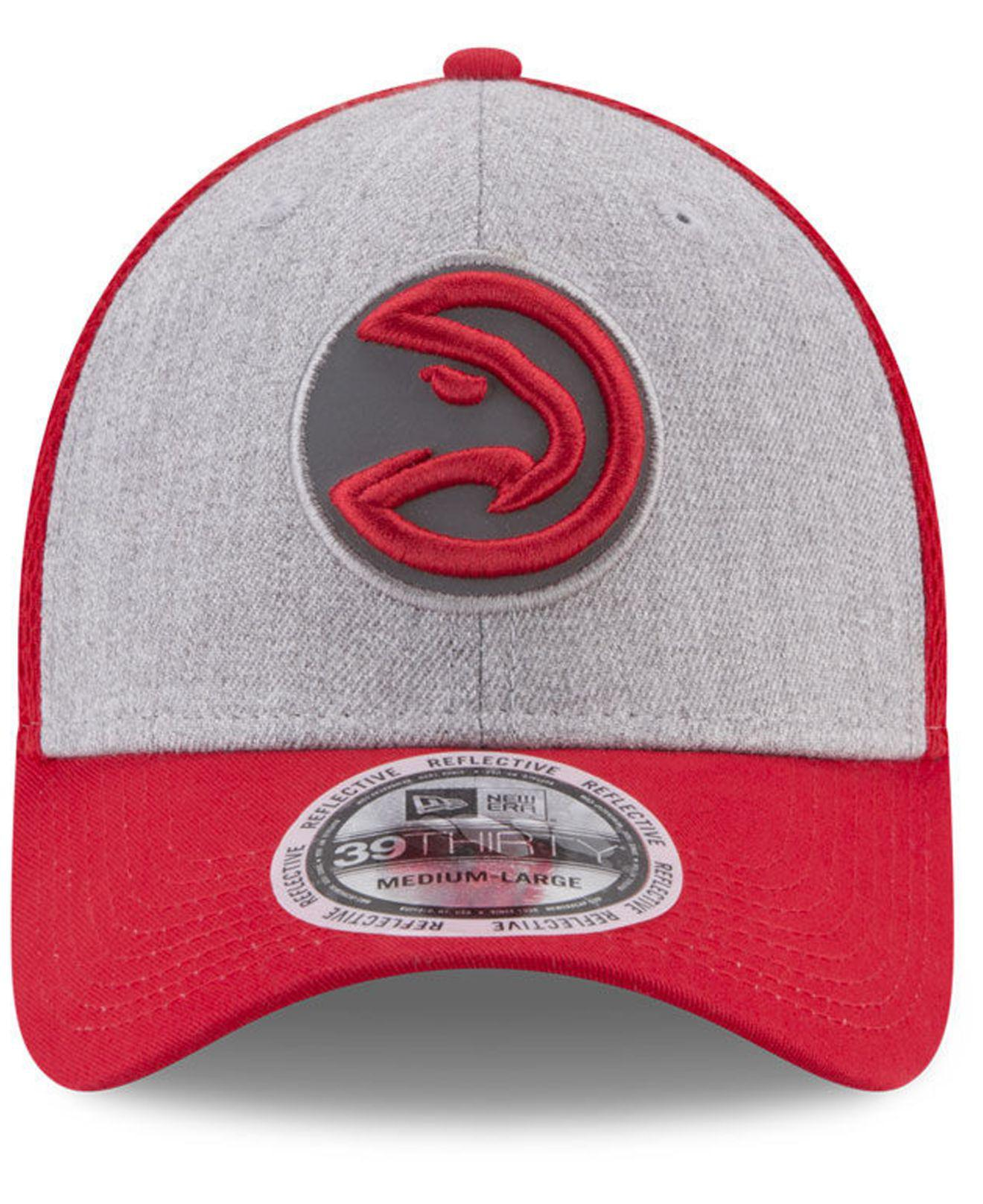 86906ff637aba7 Lyst - KTZ Total Reflective 39thirty Cap in Red for Men