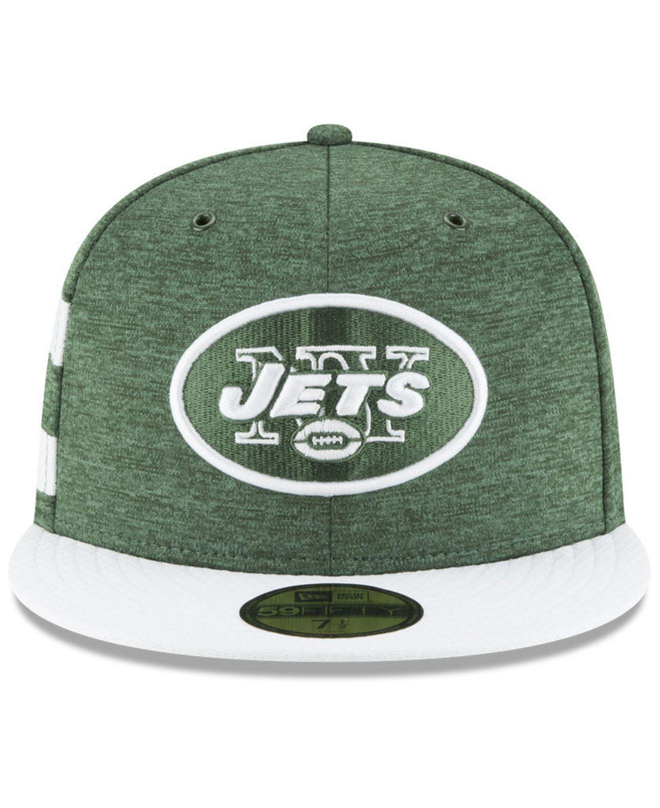 233768870 Lyst - KTZ New York Jets On Field Sideline Home 59fifty Fitted Cap in Green  for Men - Save 14%