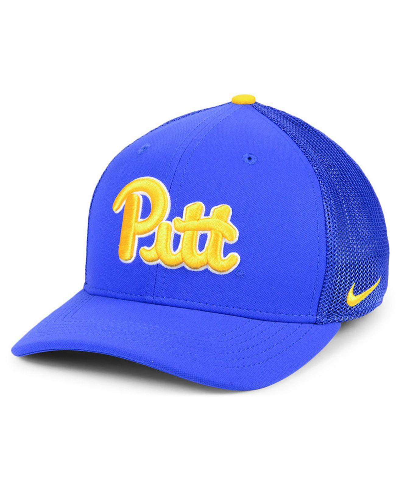 the best attitude f474e d07f7 ... ireland lyst nike pittsburgh panthers col aro swooshflex cap in blue  for men 0d469 21088