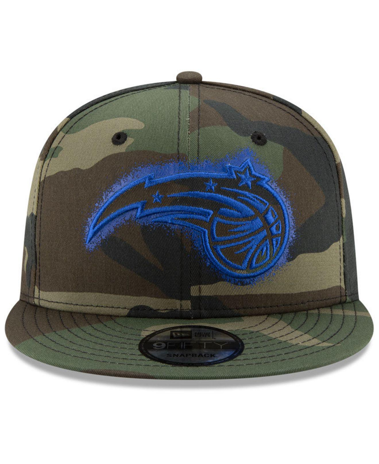 online store fdb55 ce19e Lyst - KTZ Orlando Magic Overspray 9fifty Snapback Cap in Green for Men