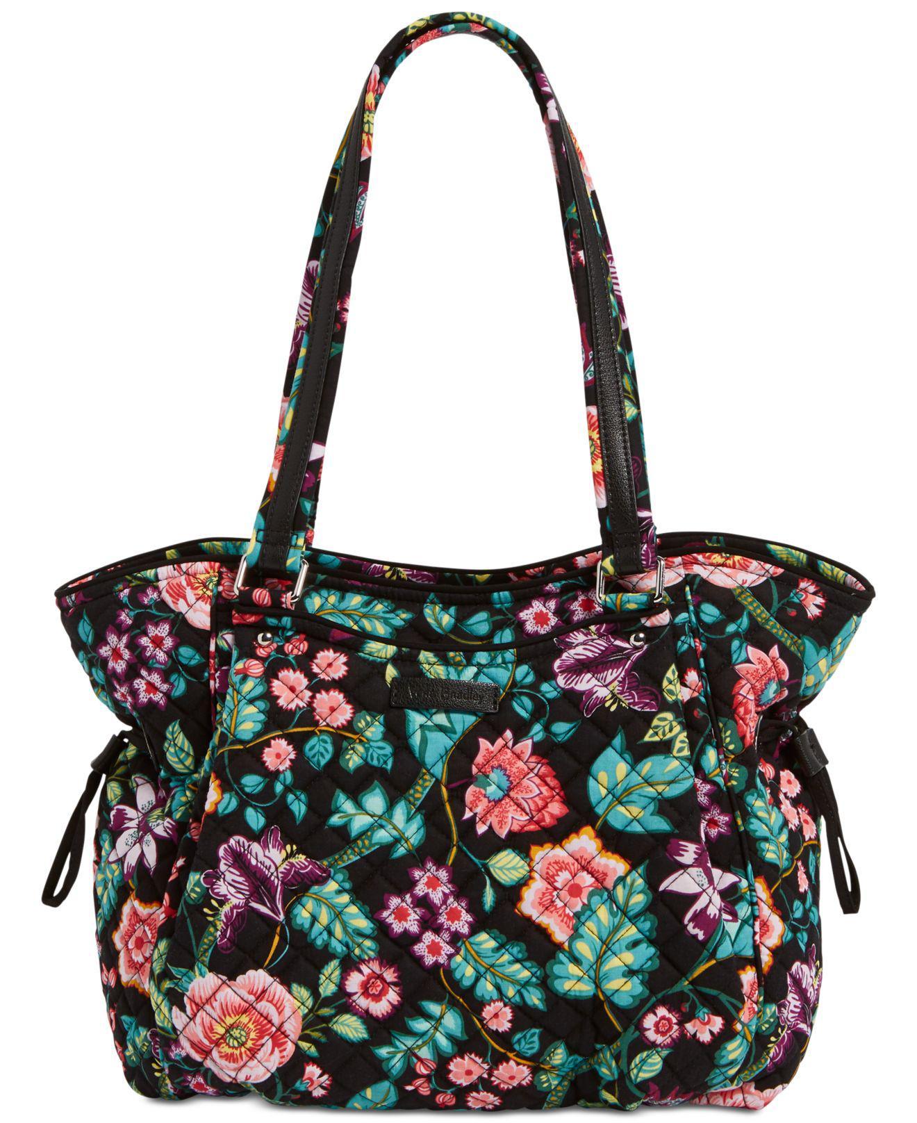 Lyst - Vera Bradley Iconic Glenna Small Shoulder Bag - Save ... a0eb4812e6542