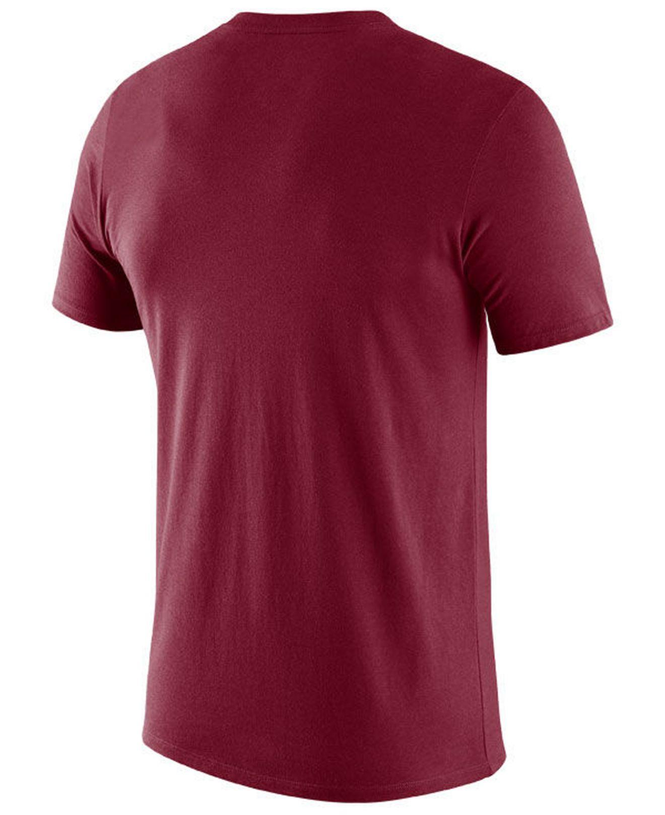 bc9a3698 Lyst - Nike Alabama Crimson Tide Legend Icon T-shirt in Red for Men