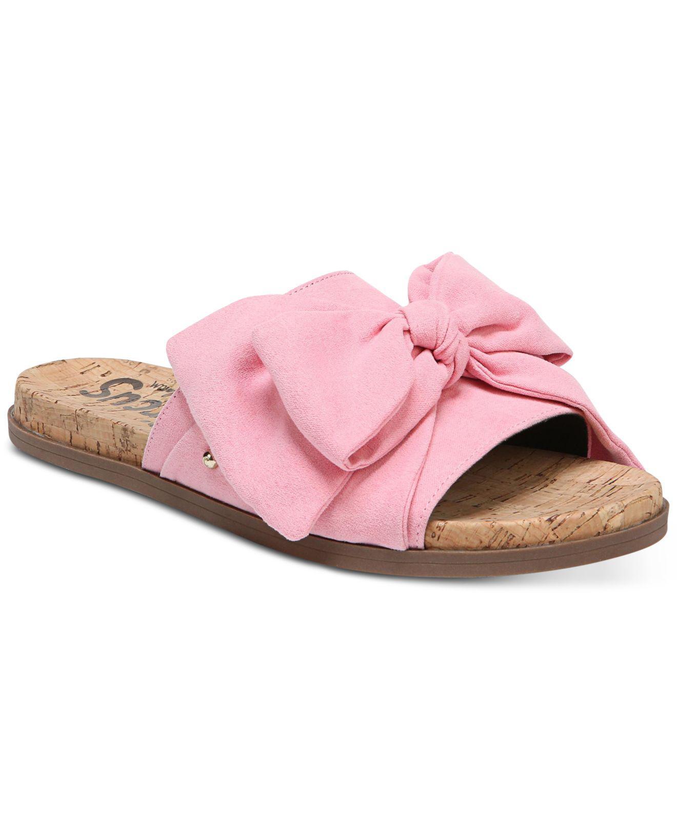 Sam Edelman Ninette Knotted Slide Sandals Women's Shoes o6PTP0