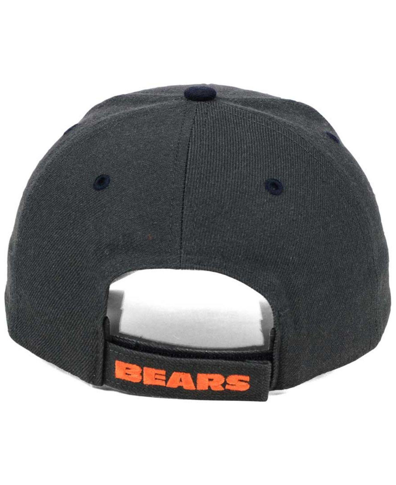 quality design d5c91 ac4b9 italy lyst 47 brand chicago bears audible mvp cap in blue for men 3ee72  70bf4