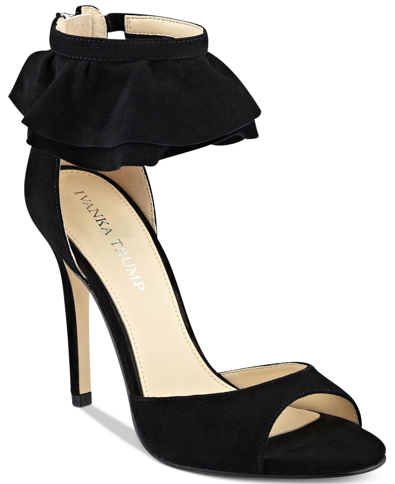 Lyst Ivanka Two Trump Herlle Two Ivanka piece Dress Sandales in schwarz de1e41