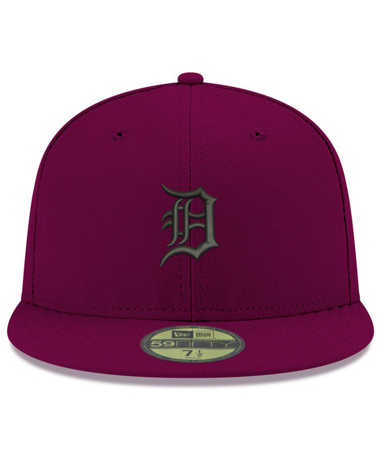 differently 4890a 2bd2d Lyst - KTZ Detroit Tigers Reverse C-dub 59fifty Fitted Cap in Purple for Men