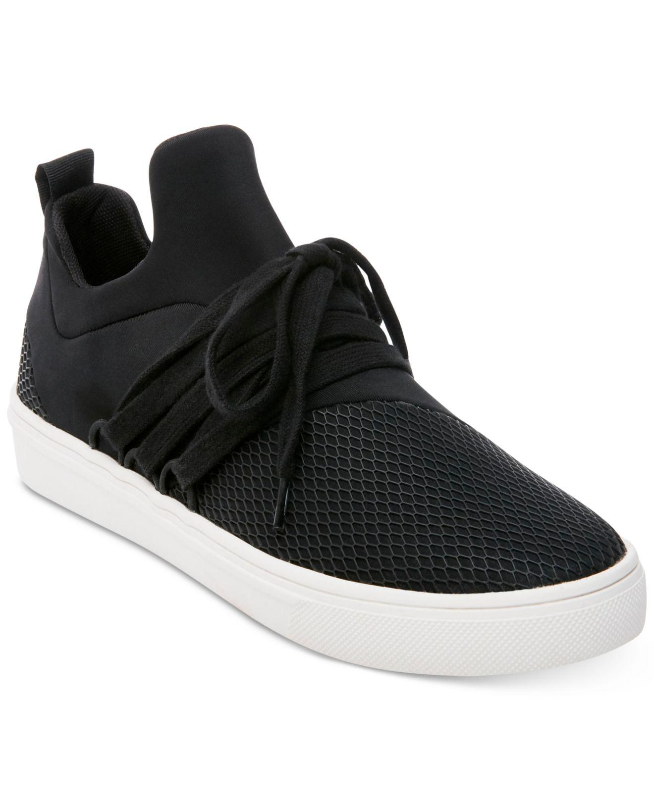 3834ace48f9 Steve Madden Women's Lancer Athletic Sneakers in Black - Lyst