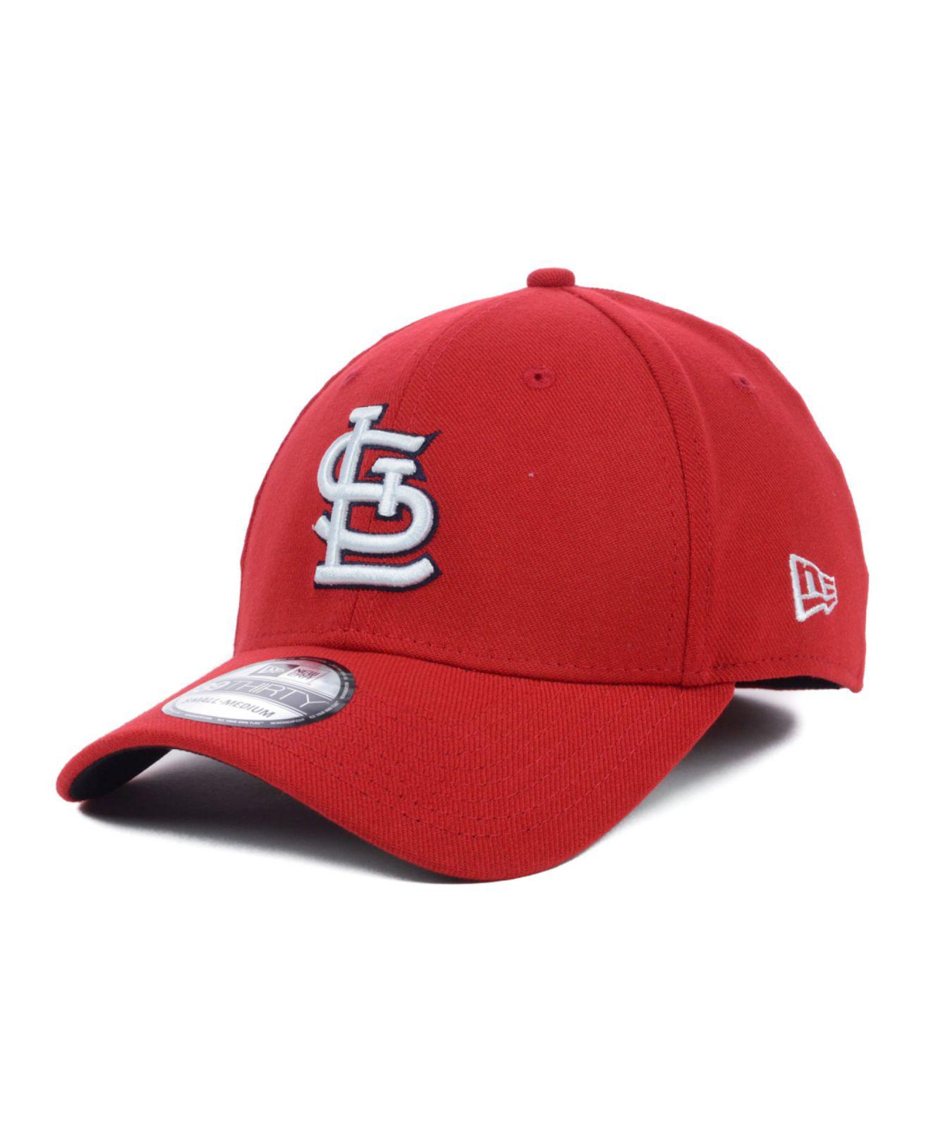 more photos 13f18 584b0 ... where to buy ktz. mens red st. louis cardinals mlb team classic 39thirty  cap