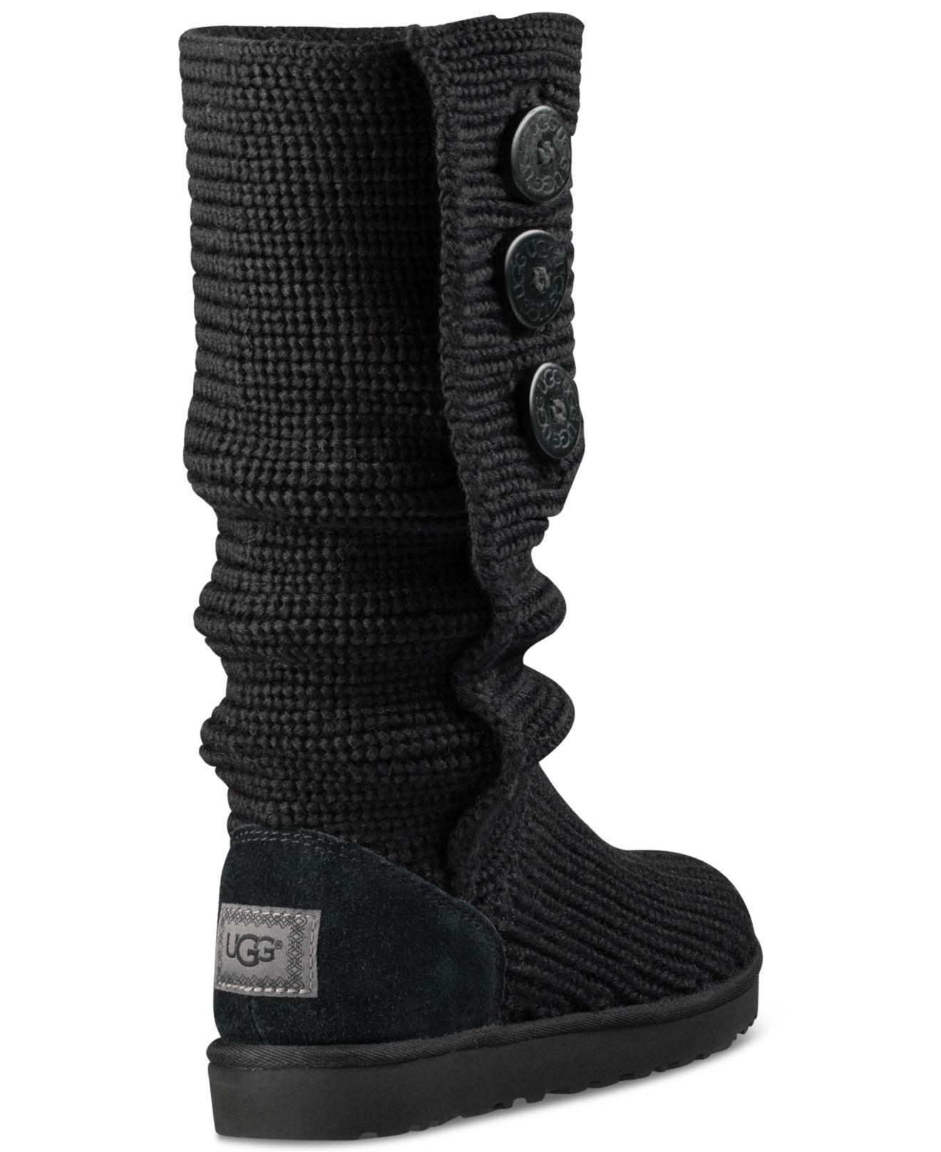 382846e7794 Women's Black Classic Cardy Boots