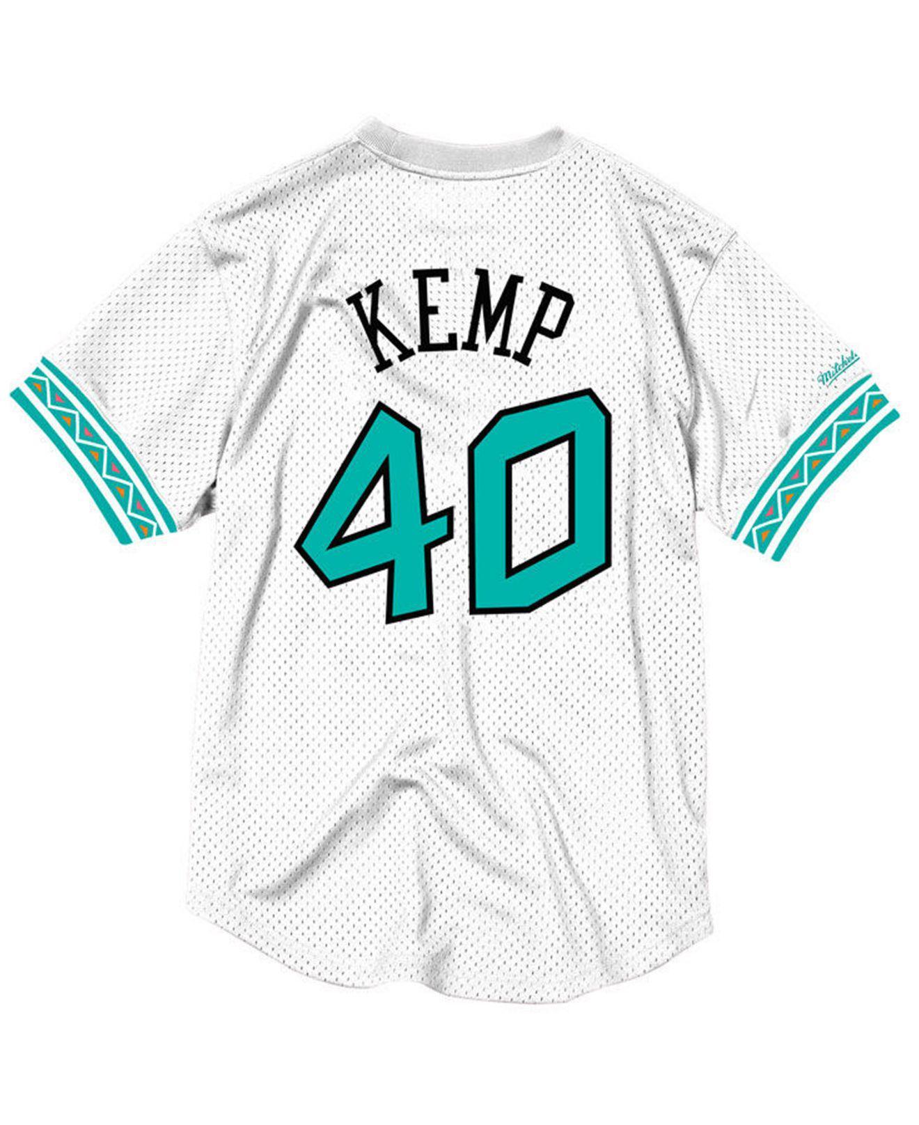 85f1145fdff Lyst - Mitchell   Ness Shawn Kemp Nba All Star 1996 Mesh Crew Neck ...
