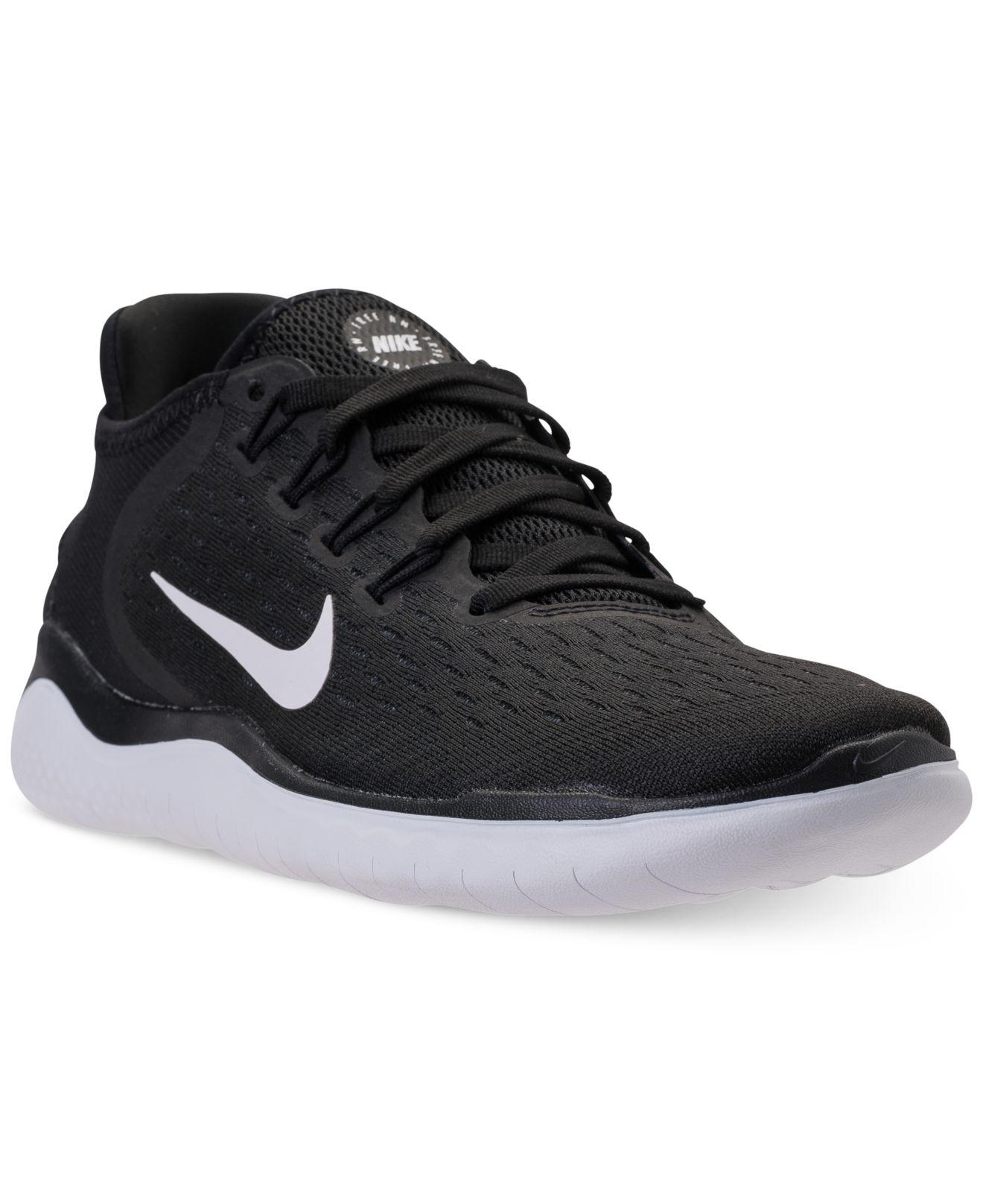 Lyst - Nike Free Run 2018 Running Sneakers From Finish Line in Black 4114e5437